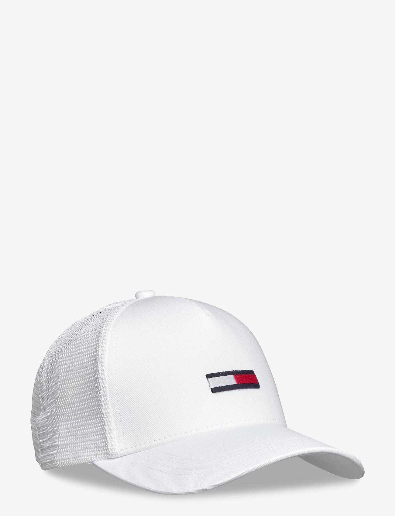 Tommy Hilfiger - TJM TRUCKER FLAG CAP - casquettes - white - 0