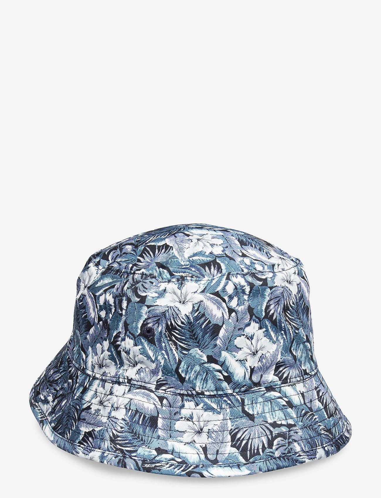 Tommy Hilfiger - FLAG BUCKET HAT REVERSIBLE - bucket hats - sky captain - 1