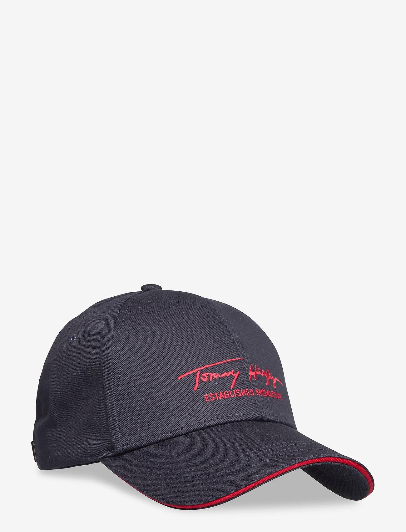 Tommy Hilfiger - TH SIGNATURE CAP - casquettes - sky captain - 0