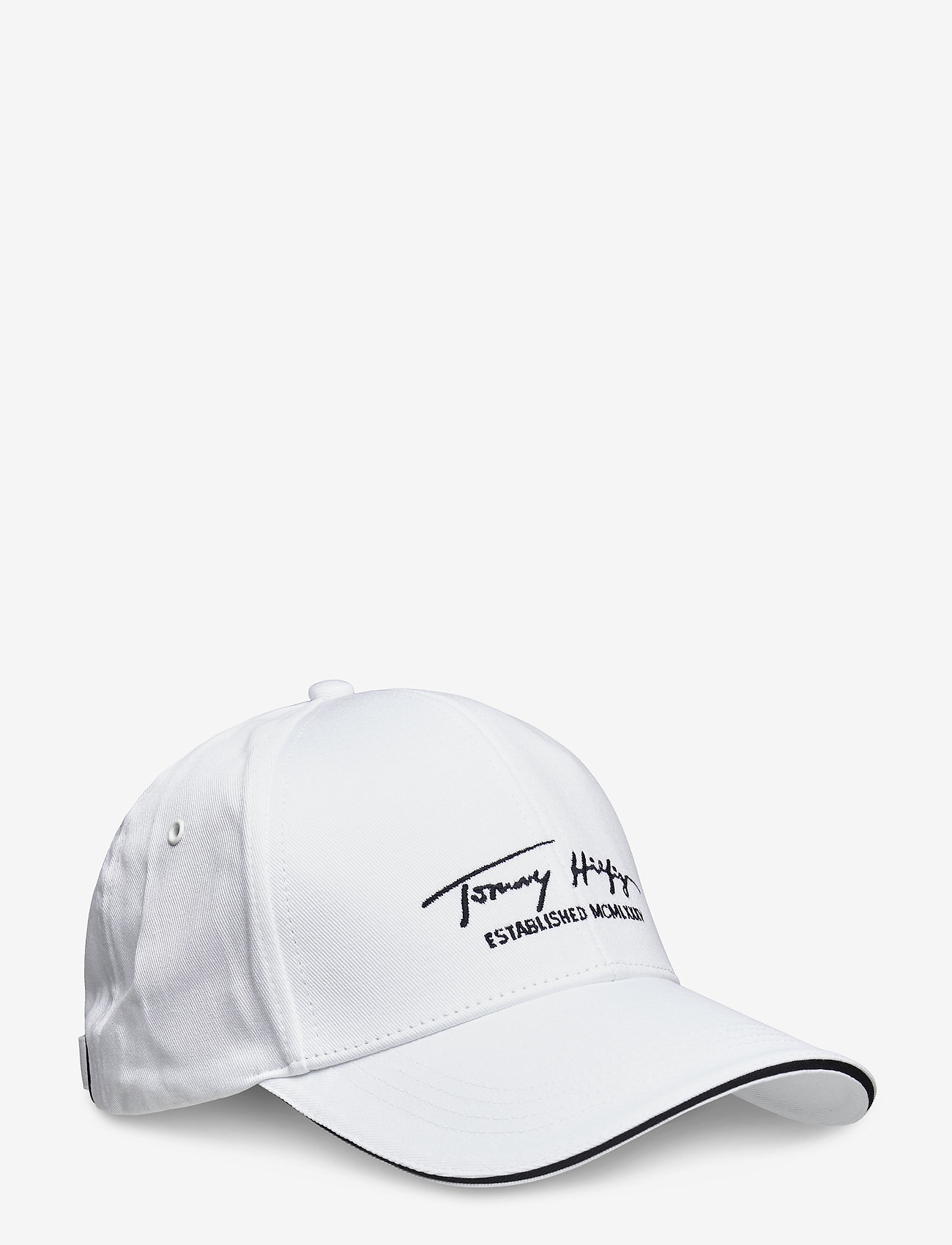 Tommy Hilfiger - TH SIGNATURE CAP - casquettes - th optic white - 0