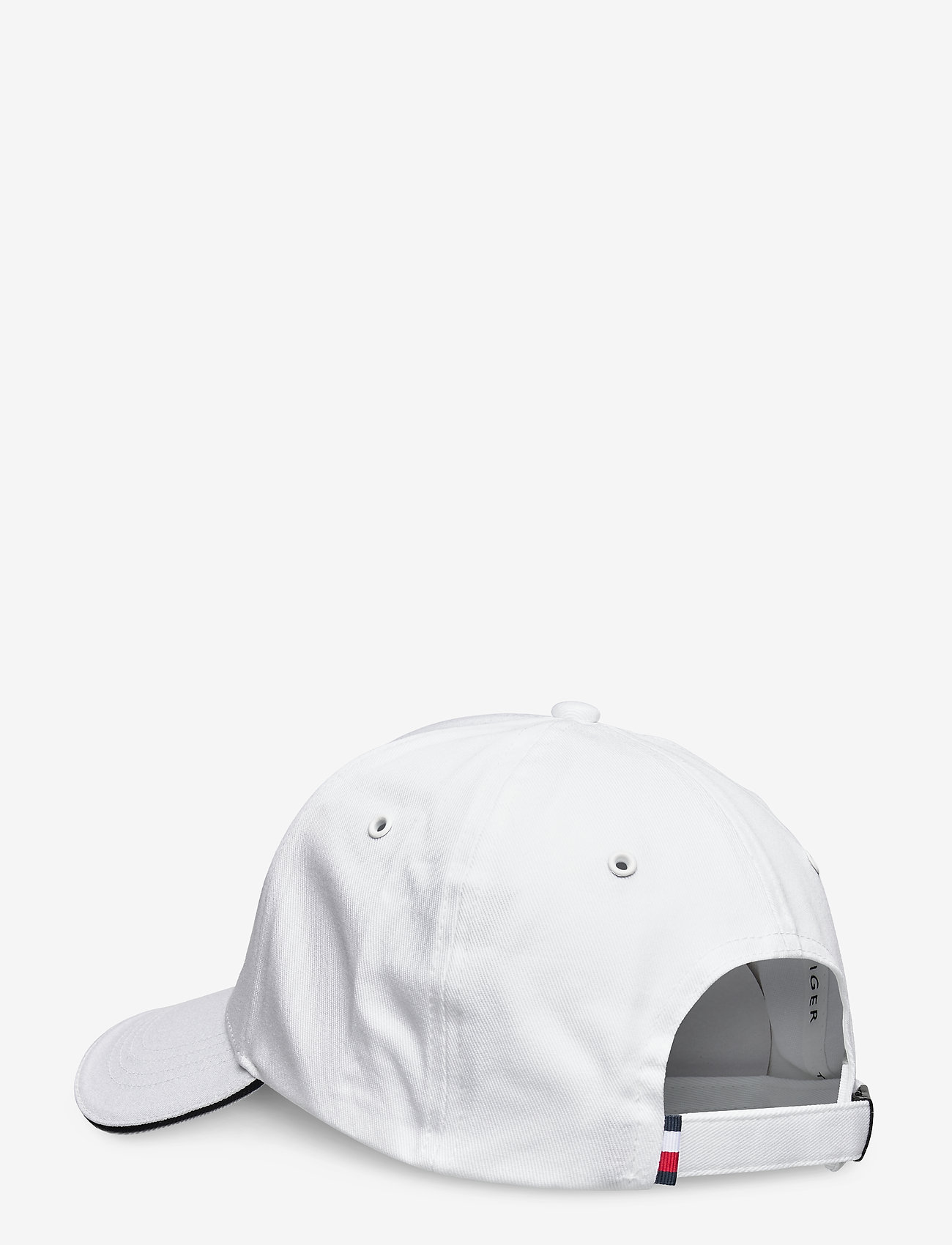 Tommy Hilfiger - TH SIGNATURE CAP - casquettes - th optic white - 1