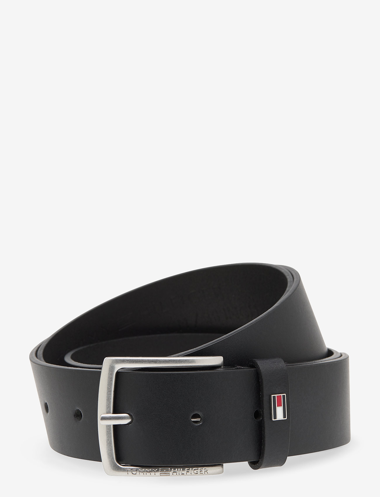 Tommy Hilfiger - CASUAL LEATHER 3.5 GIFTBOX - belts - black - 0