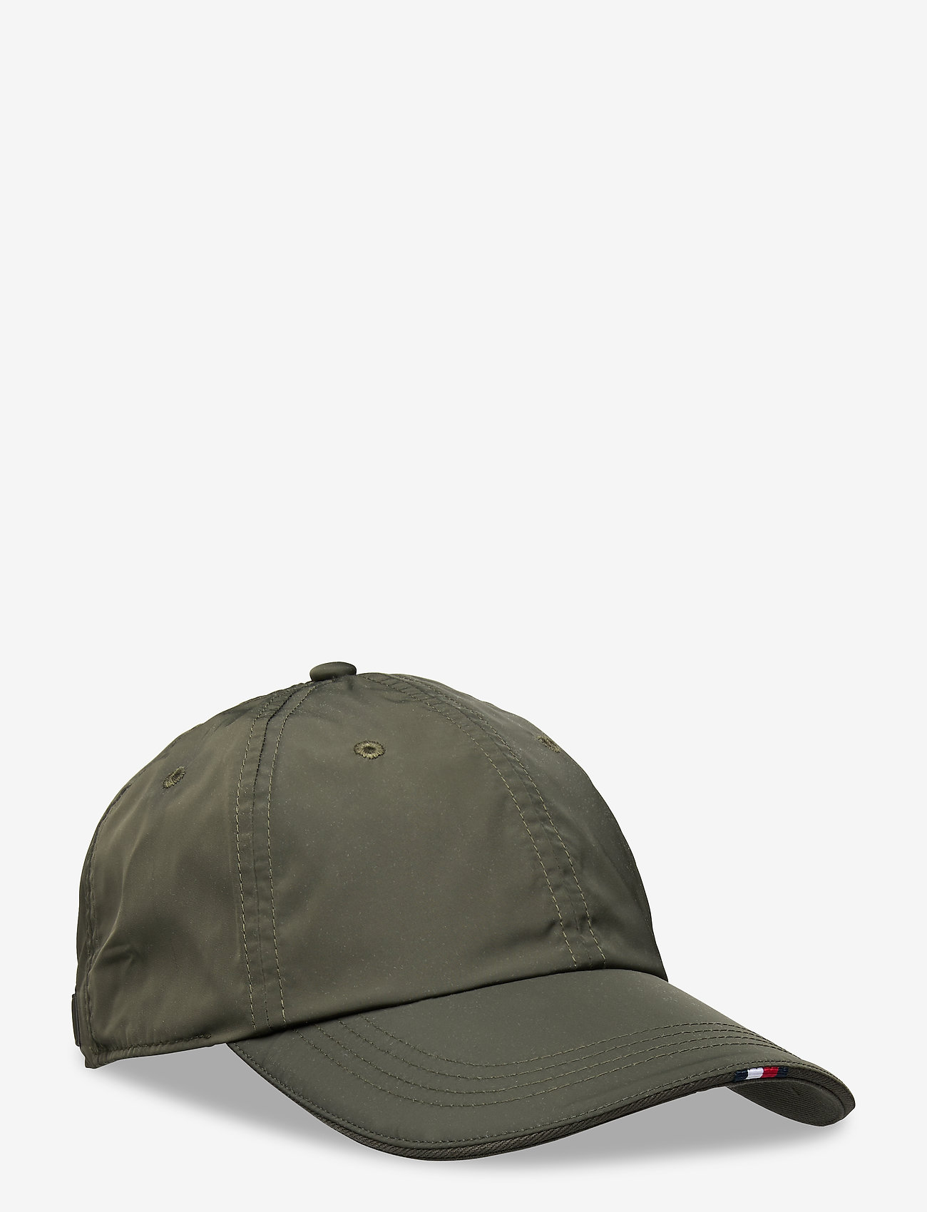Tommy Hilfiger - TAILORED CAP NYLON - casquettes - grey sage - 0