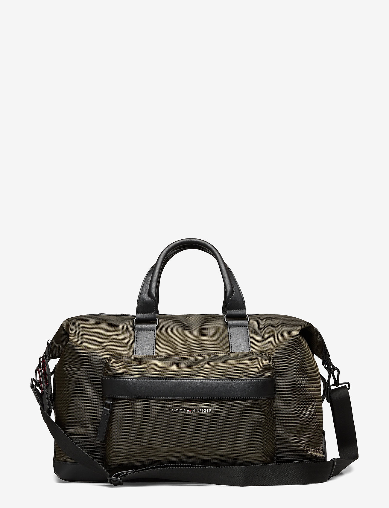 Tommy Hilfiger - ELEVATED NYLON DUFFLE - weekend bags - camo green - 0