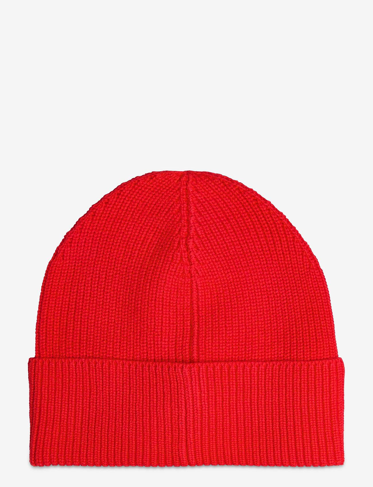 Tommy Hilfiger - TJM HERITAGE BEANIE - bonnets & casquettes - deep crimson - 1