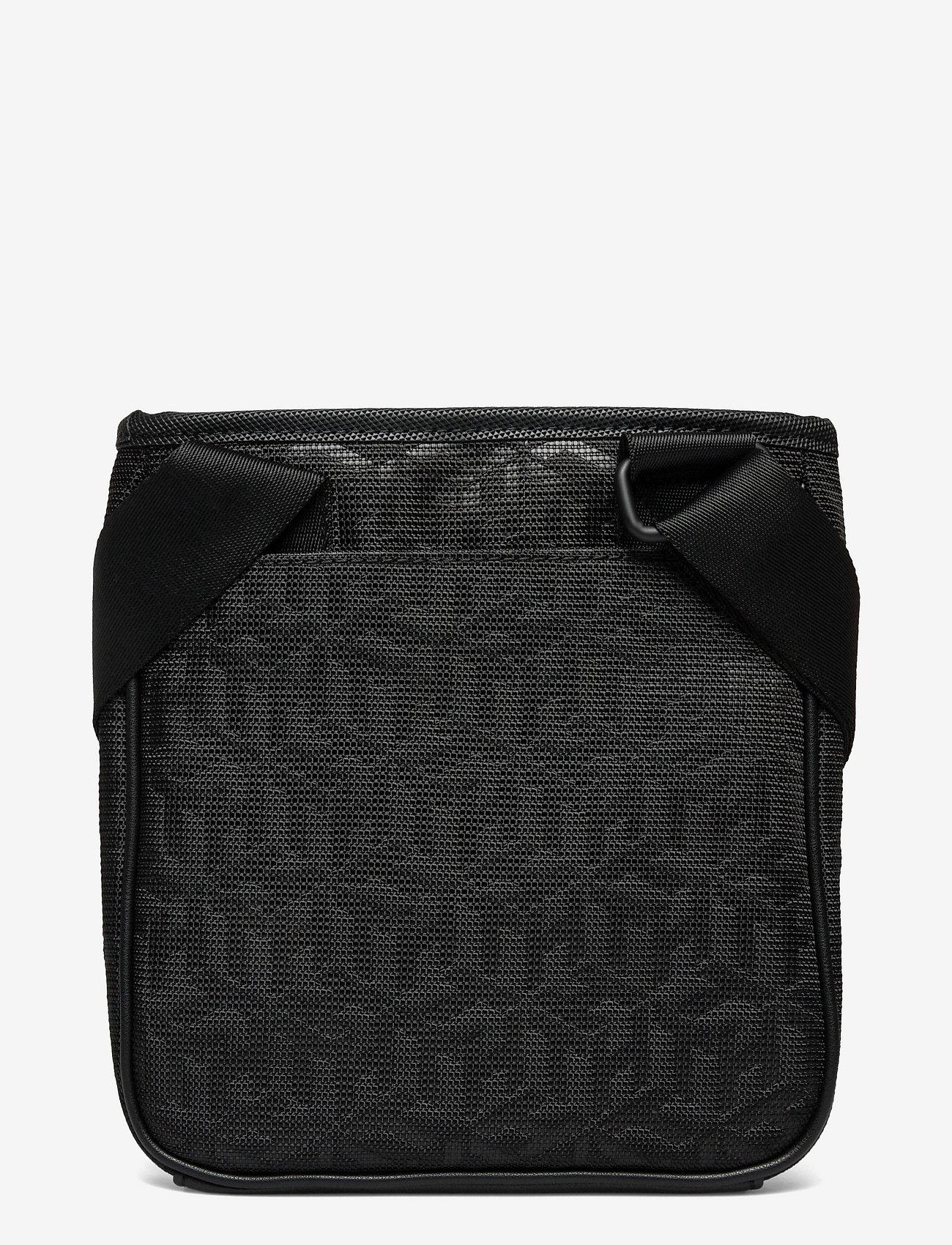 Tommy Hilfiger - ELEVATED NYLON MINI CROSSOV MONO - shoulder bags - black monogram - 1