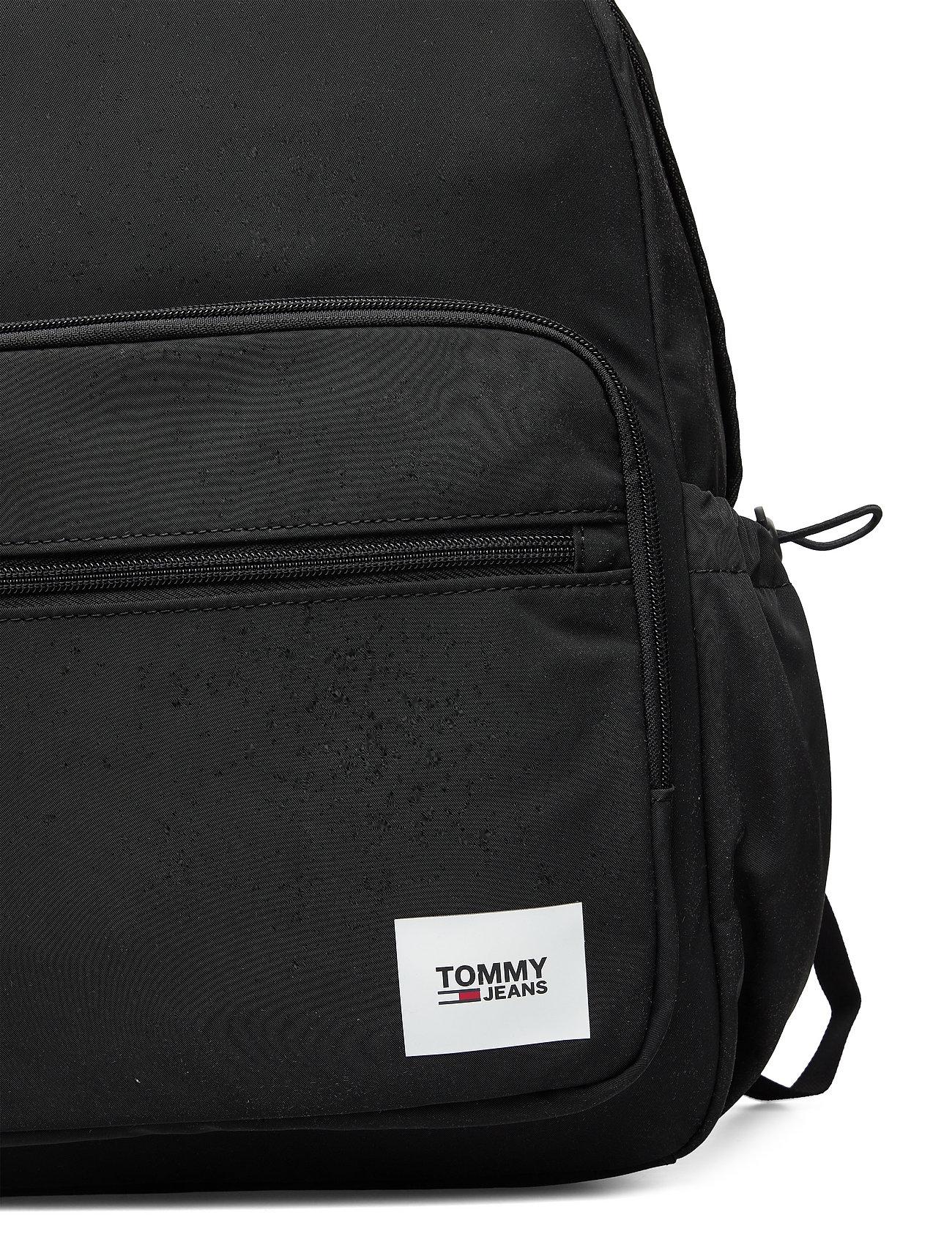 Tommy Hilfiger - TJM URBAN ESSENTIALS BACKPACK - sacs a dos - black - 3