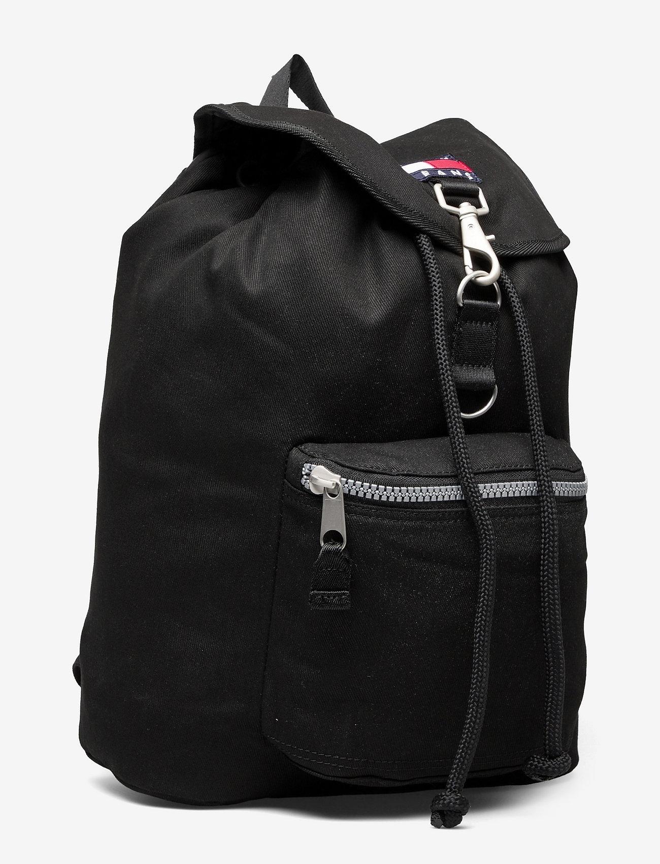 Tommy Hilfiger - TJM HERITAGE FLAP BACKPACK - sacs a dos - black - 2