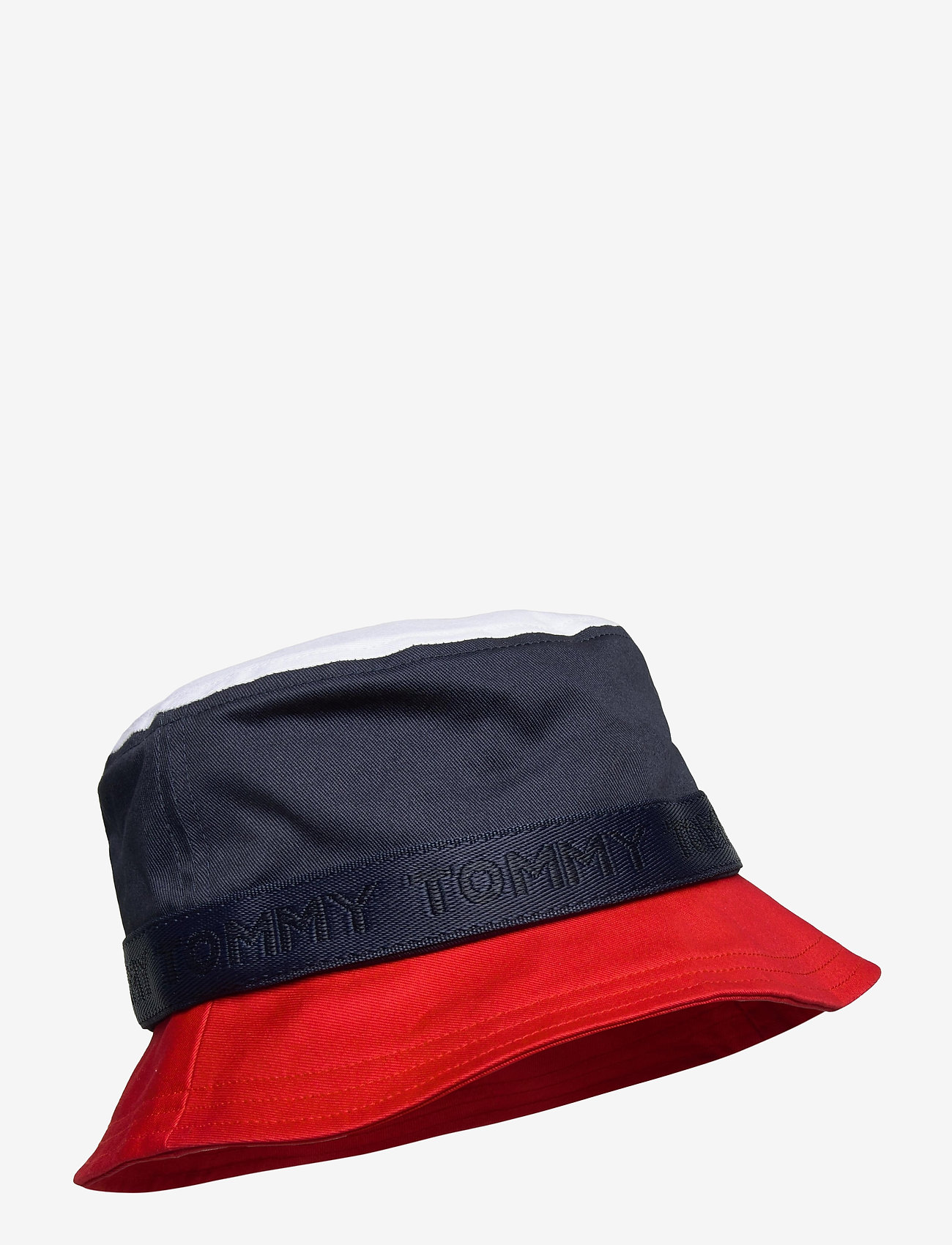 Tommy Hilfiger - BOYS CORPORATE BUCKET HAT - hatte og handsker - twilight navy - 0