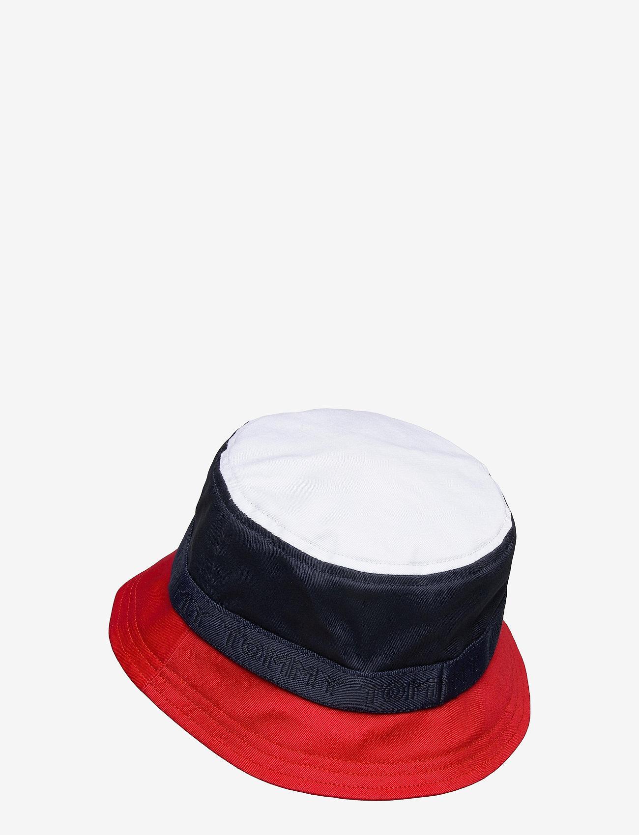 Tommy Hilfiger - BOYS CORPORATE BUCKET HAT - hatte og handsker - twilight navy - 1