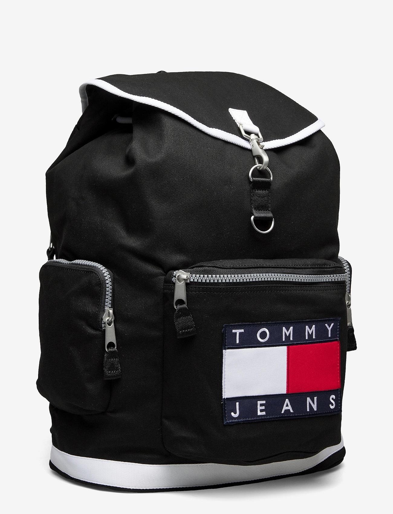 Tommy Hilfiger - TJM HERITAGE OVERSIZE BACKPACK - sacs a dos - black - 2