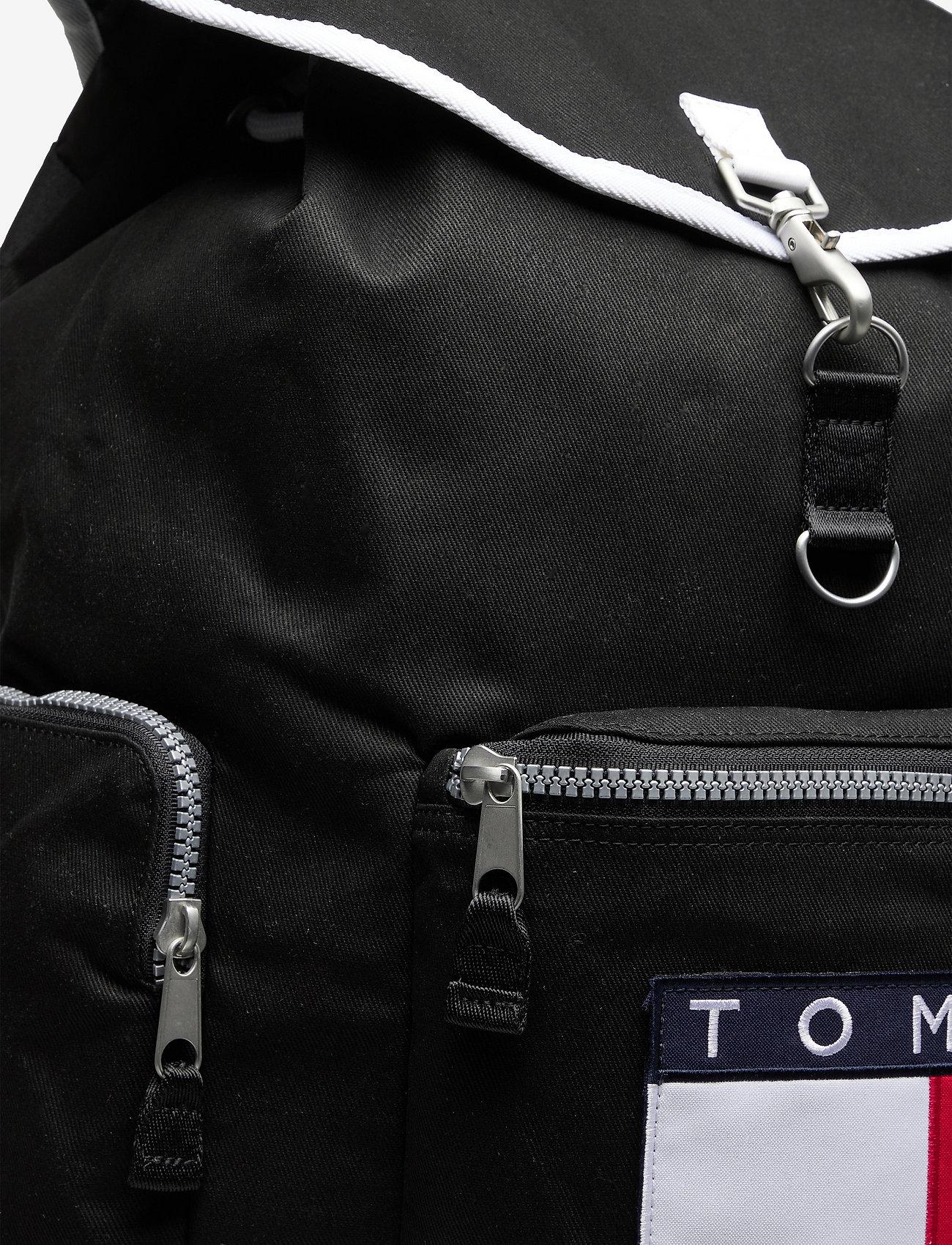Tommy Hilfiger - TJM HERITAGE OVERSIZE BACKPACK - sacs a dos - black - 3
