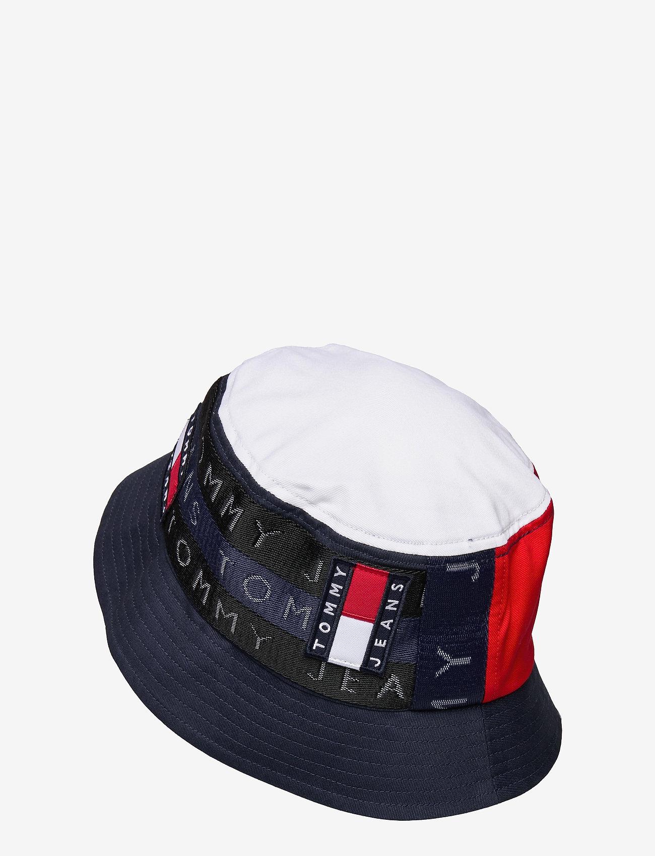 Tommy Hilfiger - TJM HERITAGE BUCKET HAT CP - bucket hats - corporate - 1