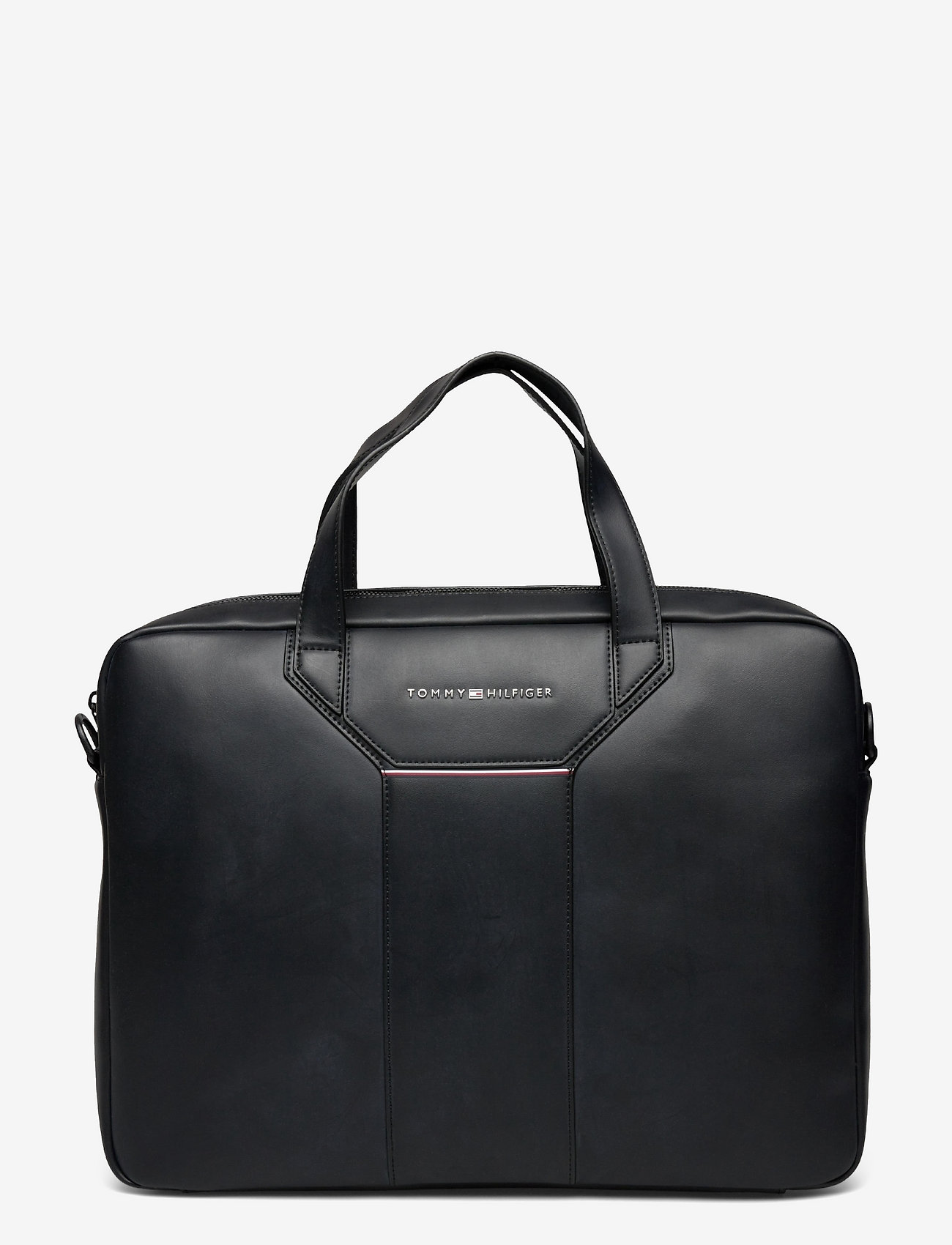 Tommy Hilfiger - TH COMMUTER COMPUTER BAG - laptop bags - black - 0