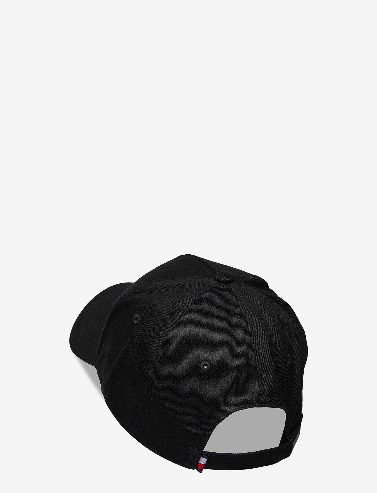 Tommy Hilfiger - SIGNATURE PATCH CAP - czapki - black - 1