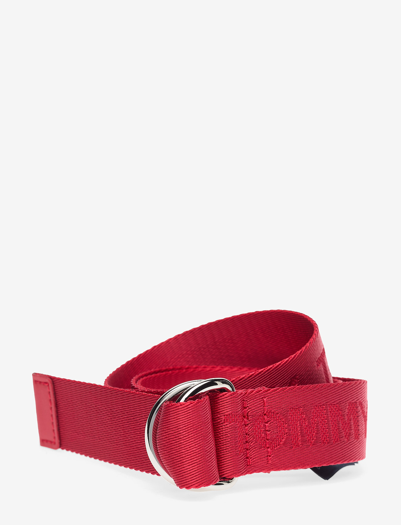 Tommy Hilfiger - KIDS WEBBING BELT 3. - barbados cherry - 0