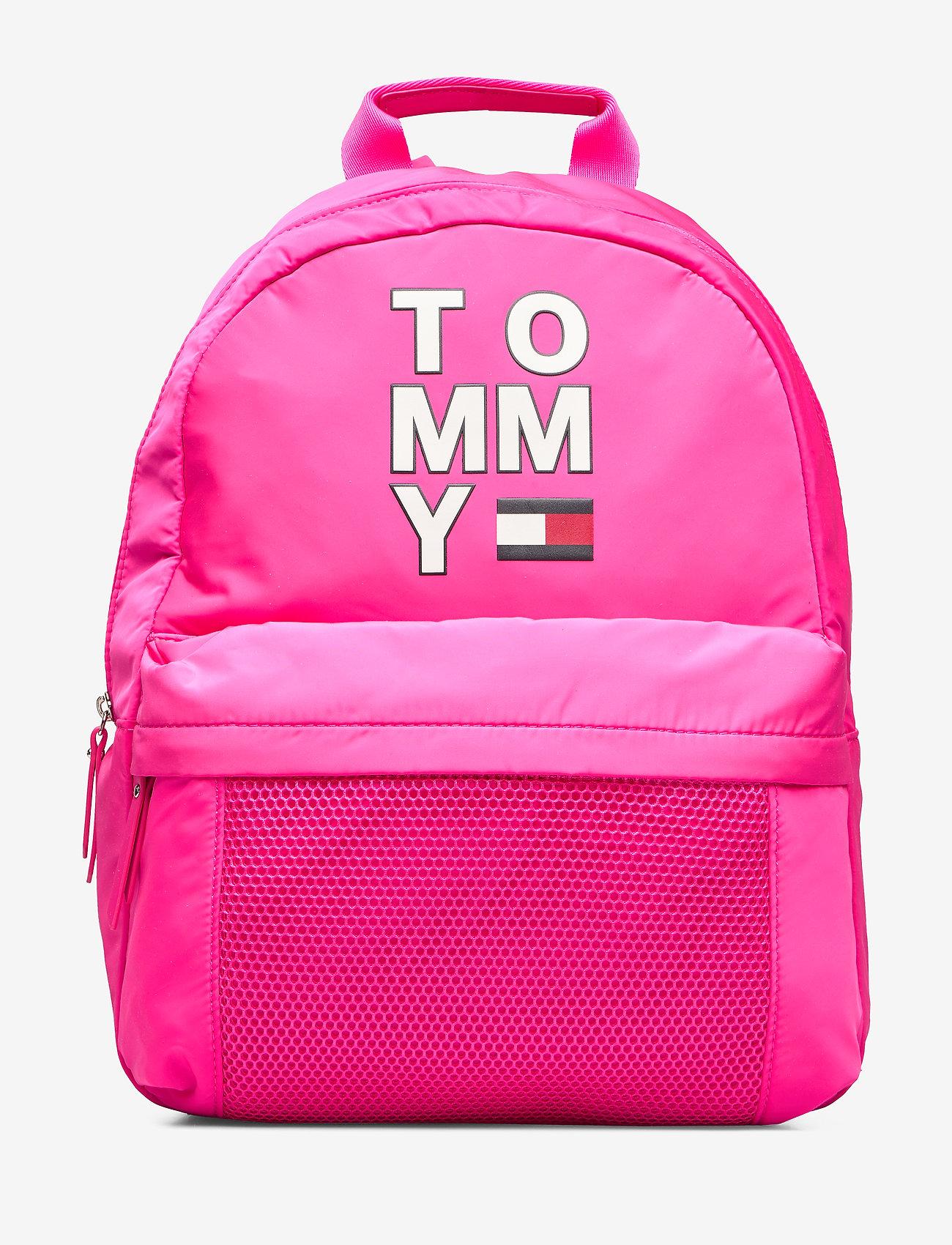 Tommy Hilfiger - TH KIDS TOMMY BACKPA - pink glo - 0