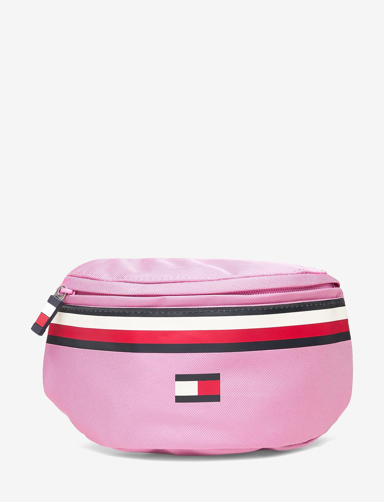 Tommy Hilfiger - SMU KIDS FLAG BUMBAG - totes & small bags - cashmere rose - 0