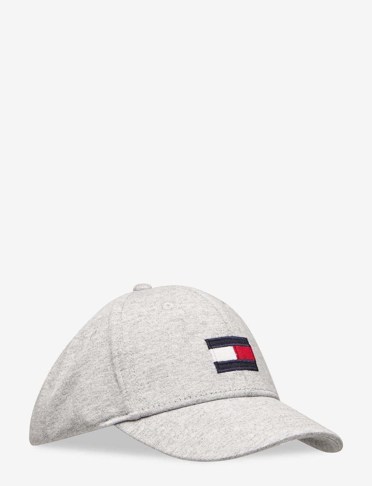 Tommy Hilfiger - SMU KIDS MED FLAG CA - casquettes - light grey heather - 0