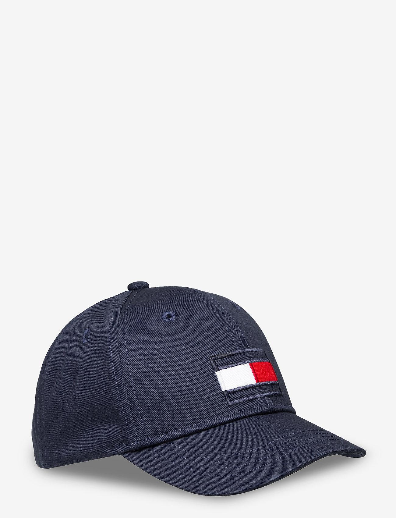 Tommy Hilfiger - BIG FLAG CAP - caps - twilight navy - 0