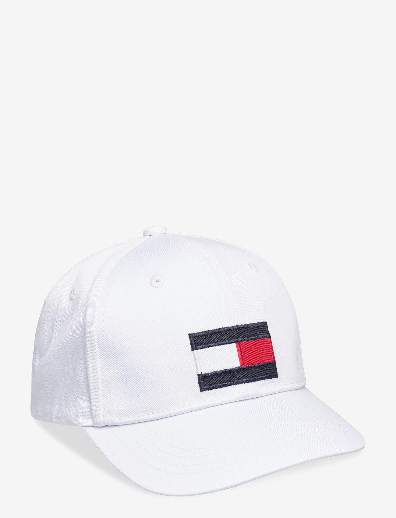 Tommy Hilfiger - BIG FLAG CAP - huer & kasketter - white - 0