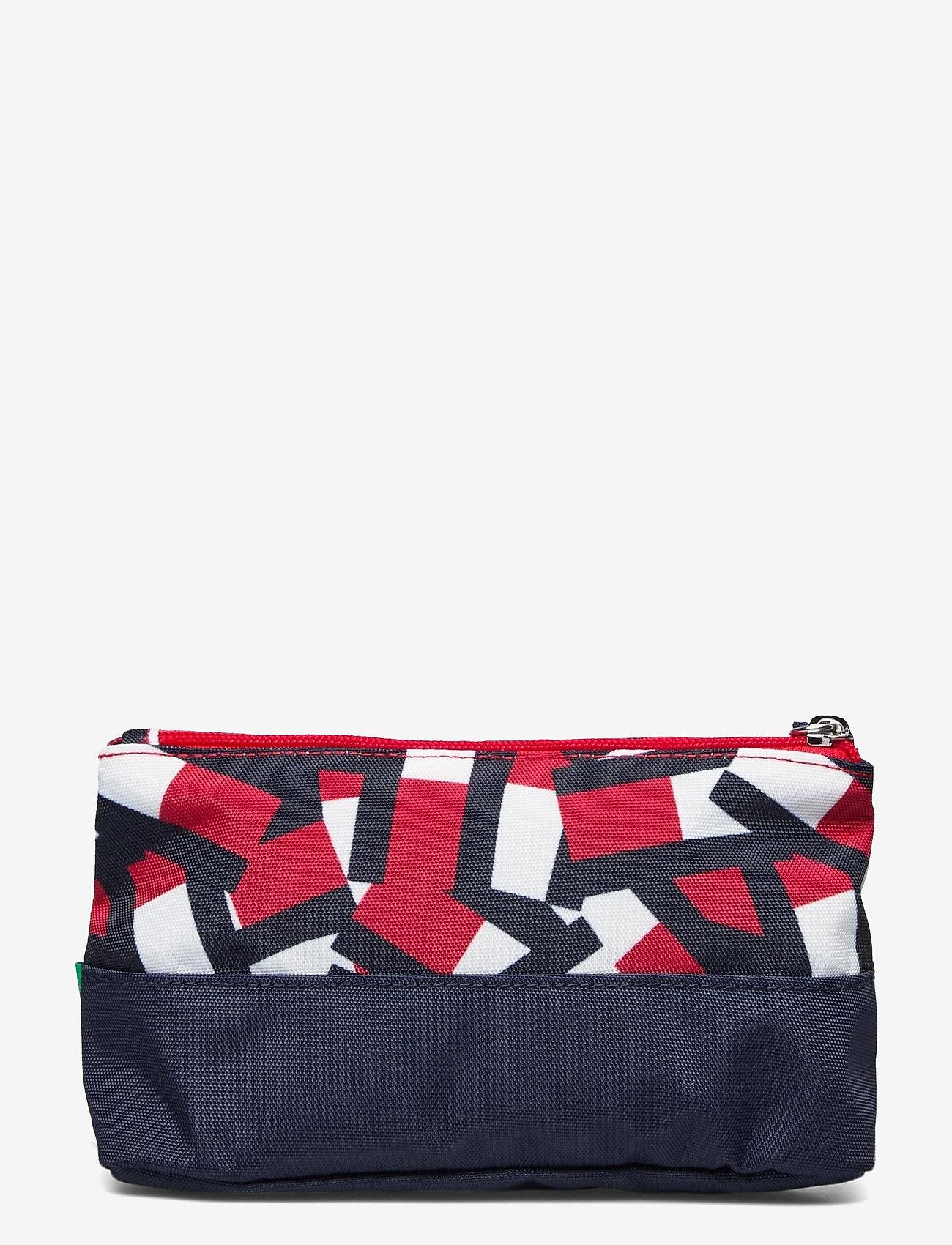 Tommy Hilfiger - BTS CORE PENCIL CASE FLAG PRINT - accessories - flag print colorblock - 1