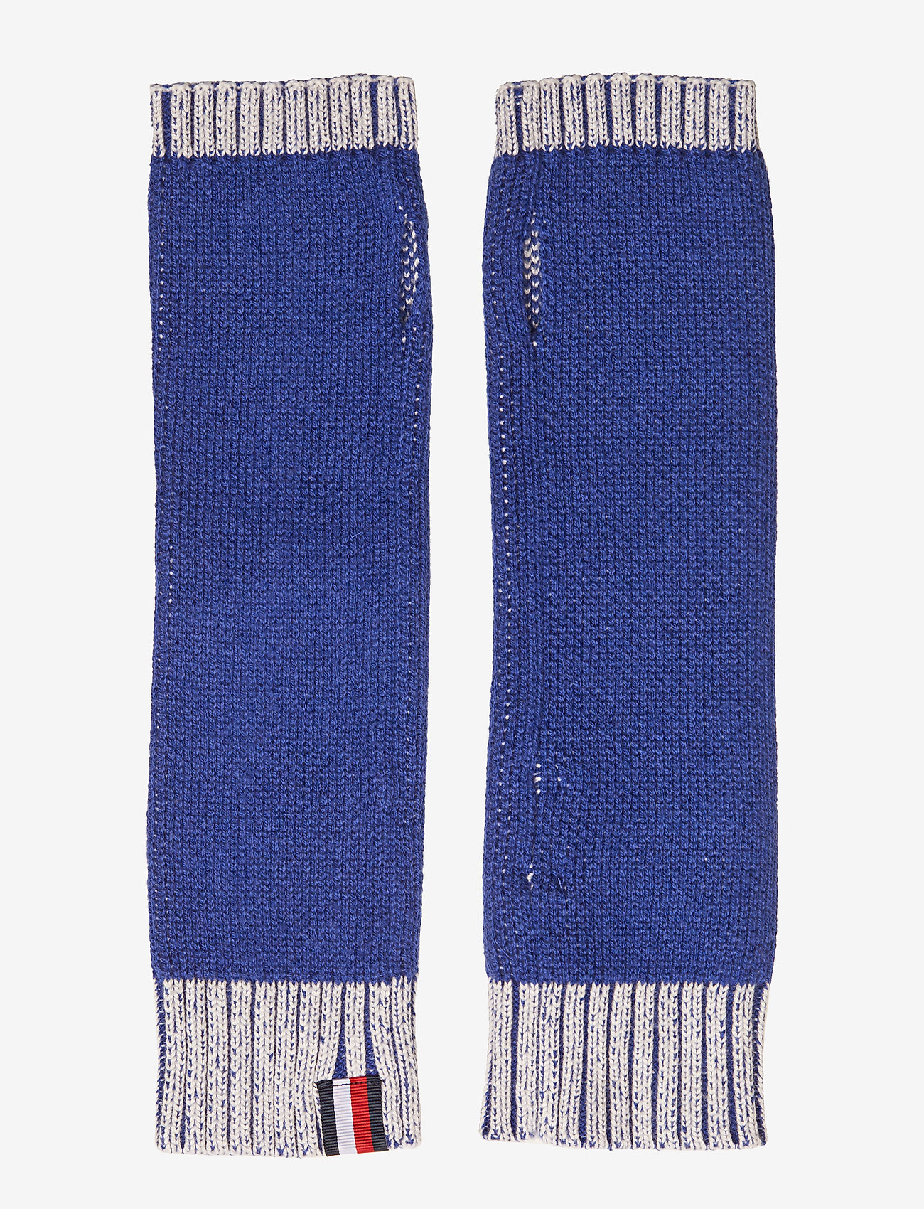 Tommy Hilfiger - FUN LOGO KNIT HANDWA - rękawiczki - mazarine blue - 1