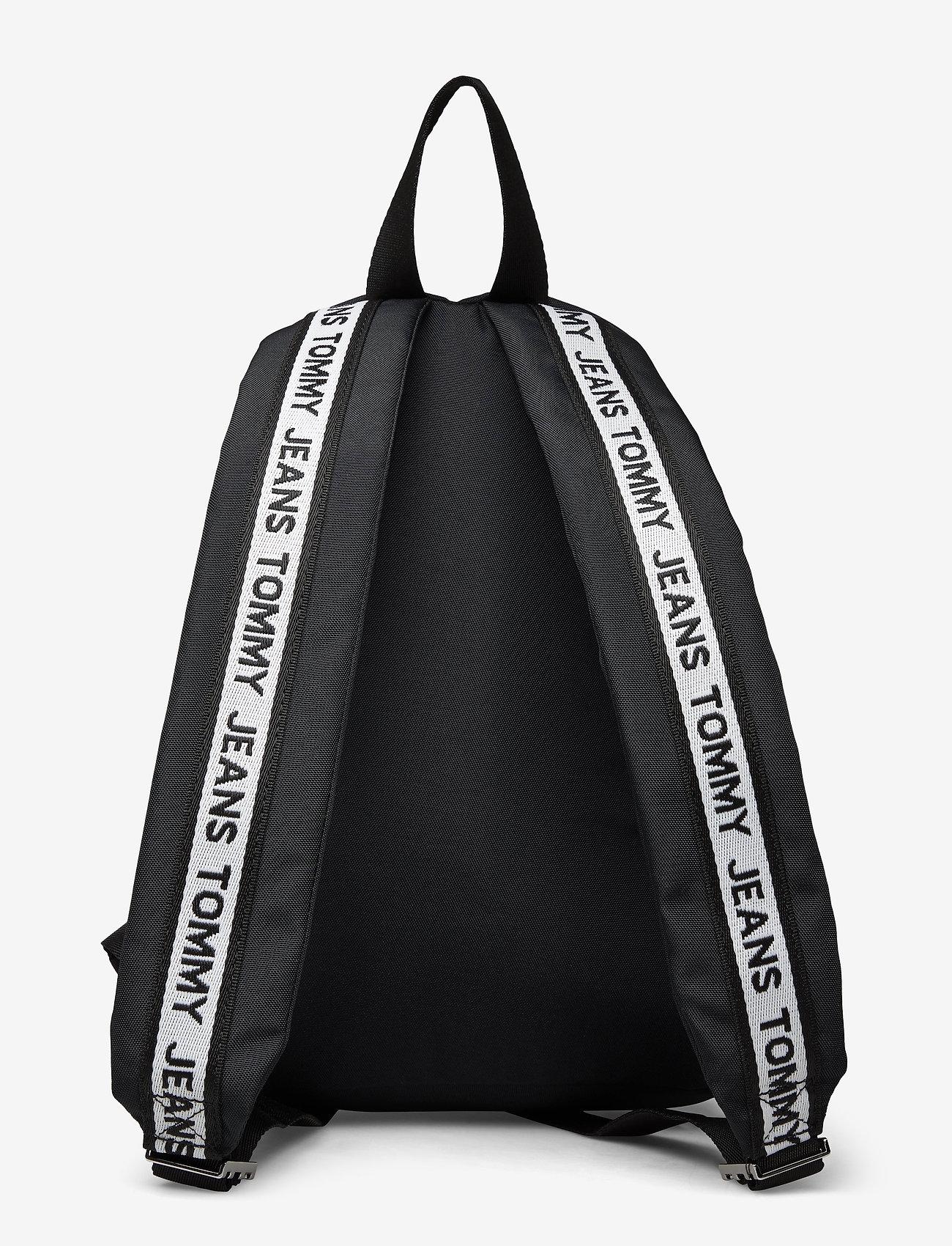 Tommy Hilfiger - TJW LOGO TAPE MINI B - backpacks - black - 1