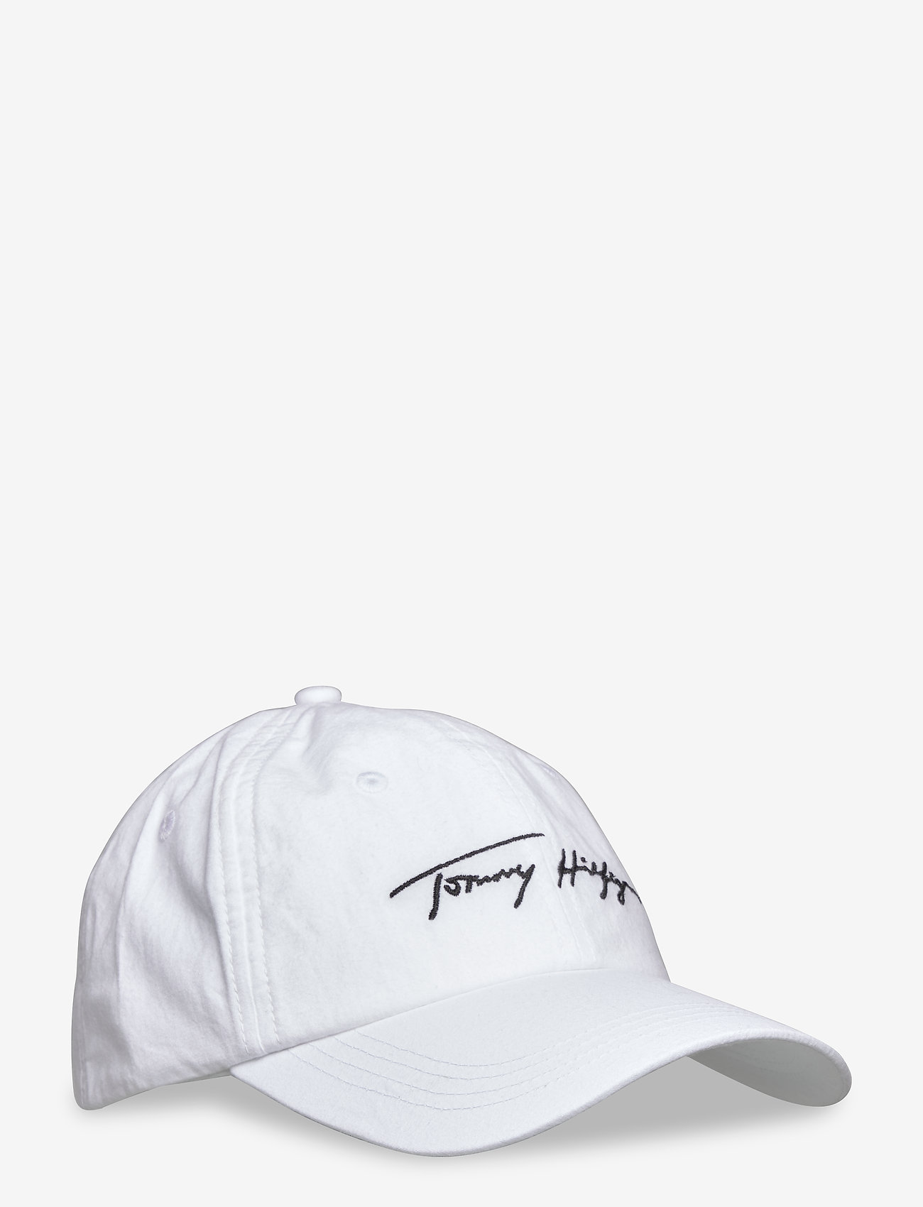 Tommy Hilfiger - TOMMY SIGNATURE CAP - caps - bright white - 0