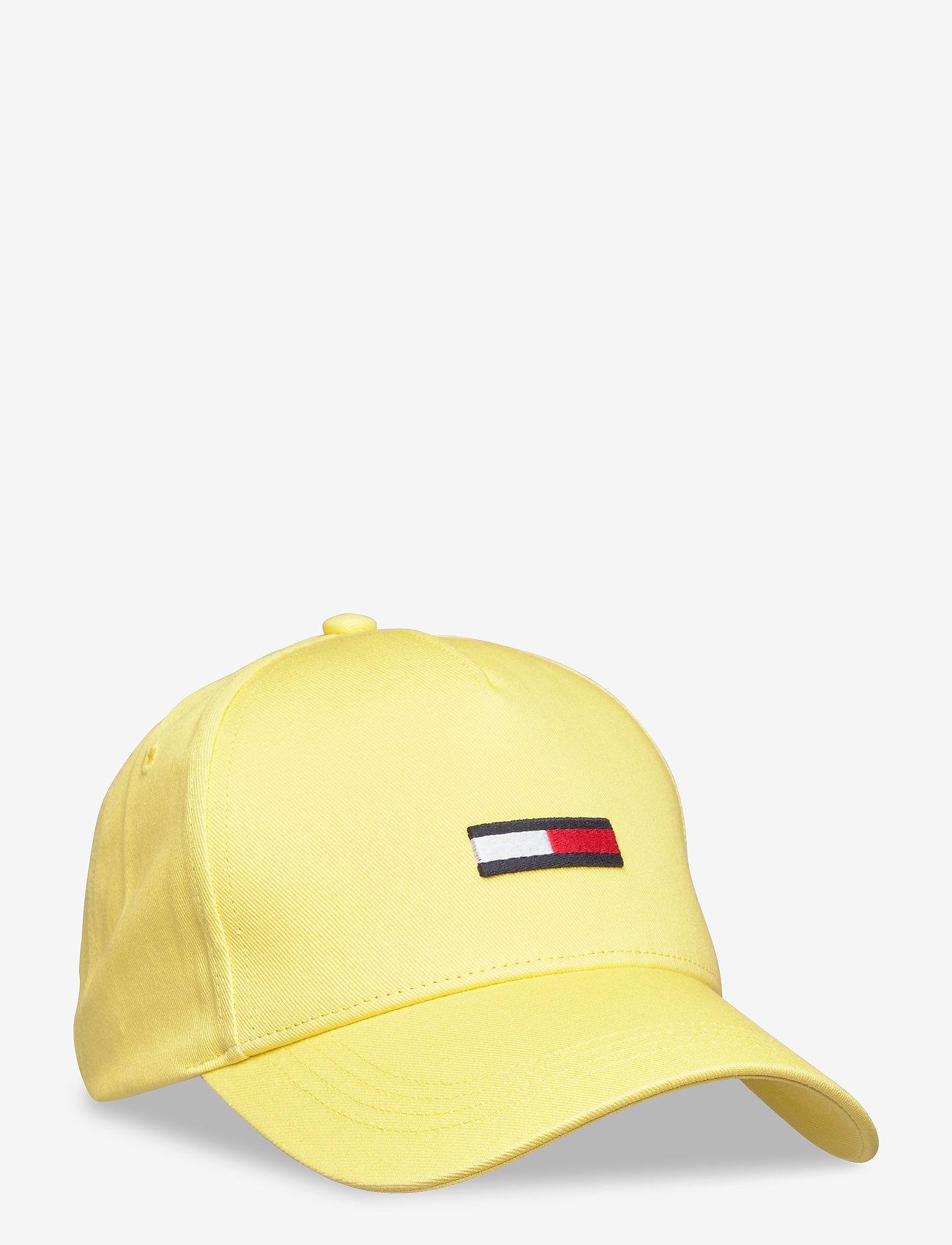 Tommy Hilfiger - TJW FLAG CAP - caps - frozen lemon - 0