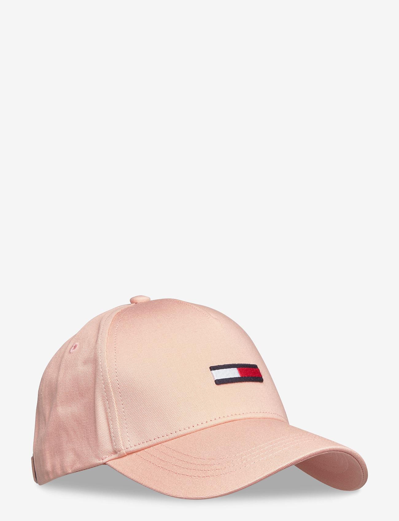 Tommy Hilfiger - TJW FLAG CAP - caps - sweet peach - 0
