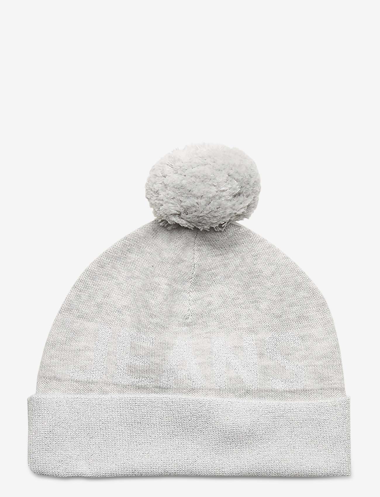 Tommy Hilfiger - TJW SEASONAL LUREX BEANIE - mutsen - pale grey heather - 0