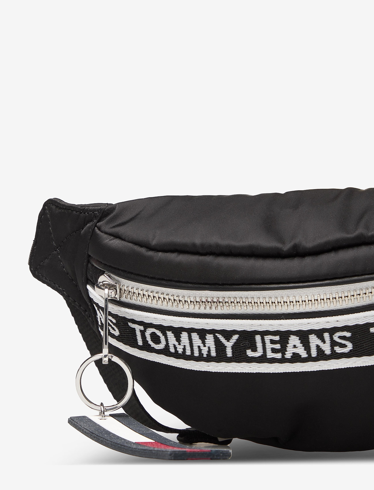 Tommy Hilfiger - TJW MINI LOGO TAPE BUMBAG NYLN - väskor - black - 3