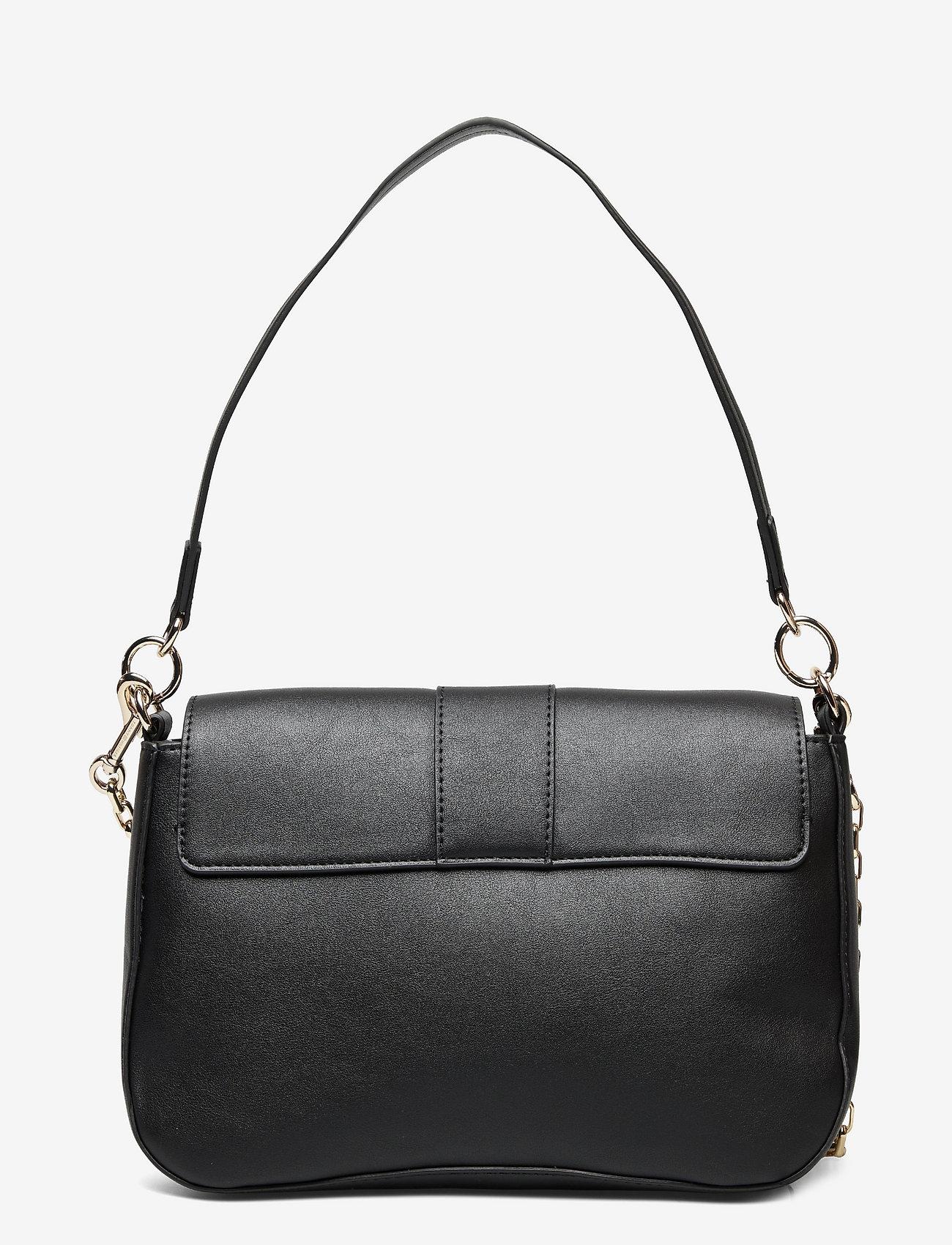 Tommy Hilfiger - TH LOCK SATCHEL - shoulder bags - black - 1