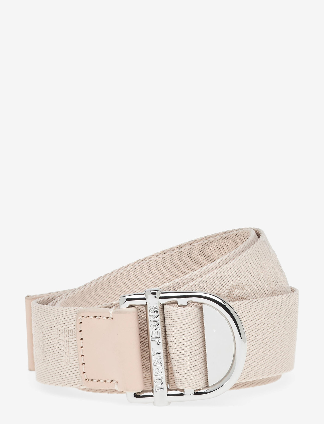 Tommy Hilfiger - TJW WEBBING ESSENTIAL BELT - accessories - smooth stone - 0