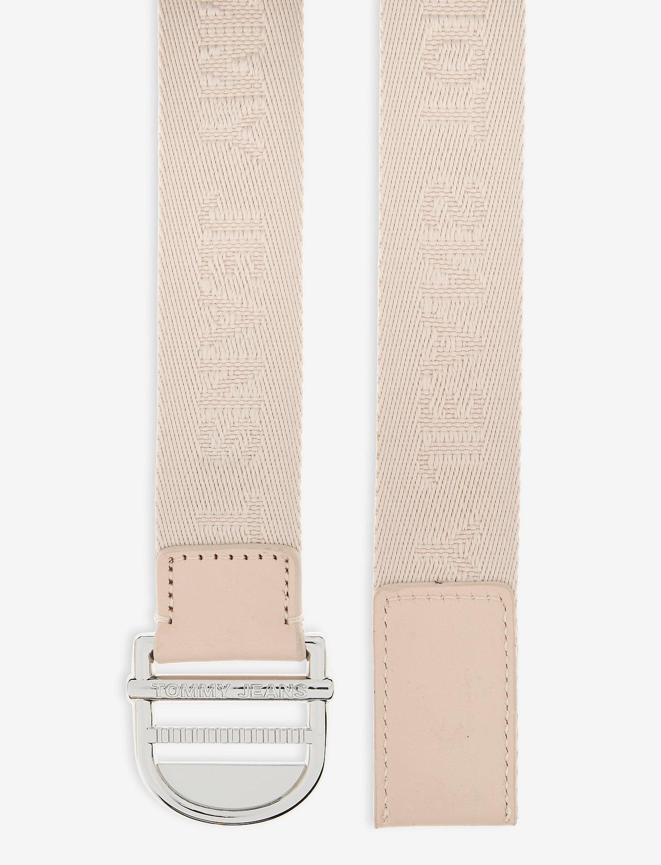 Tommy Hilfiger - TJW WEBBING ESSENTIAL BELT - accessories - smooth stone - 1
