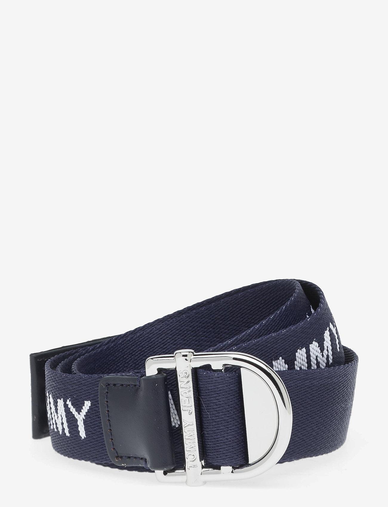 Tommy Hilfiger - TJW WEBBING ESSENTIAL BELT - accessories - twilight navy - 0