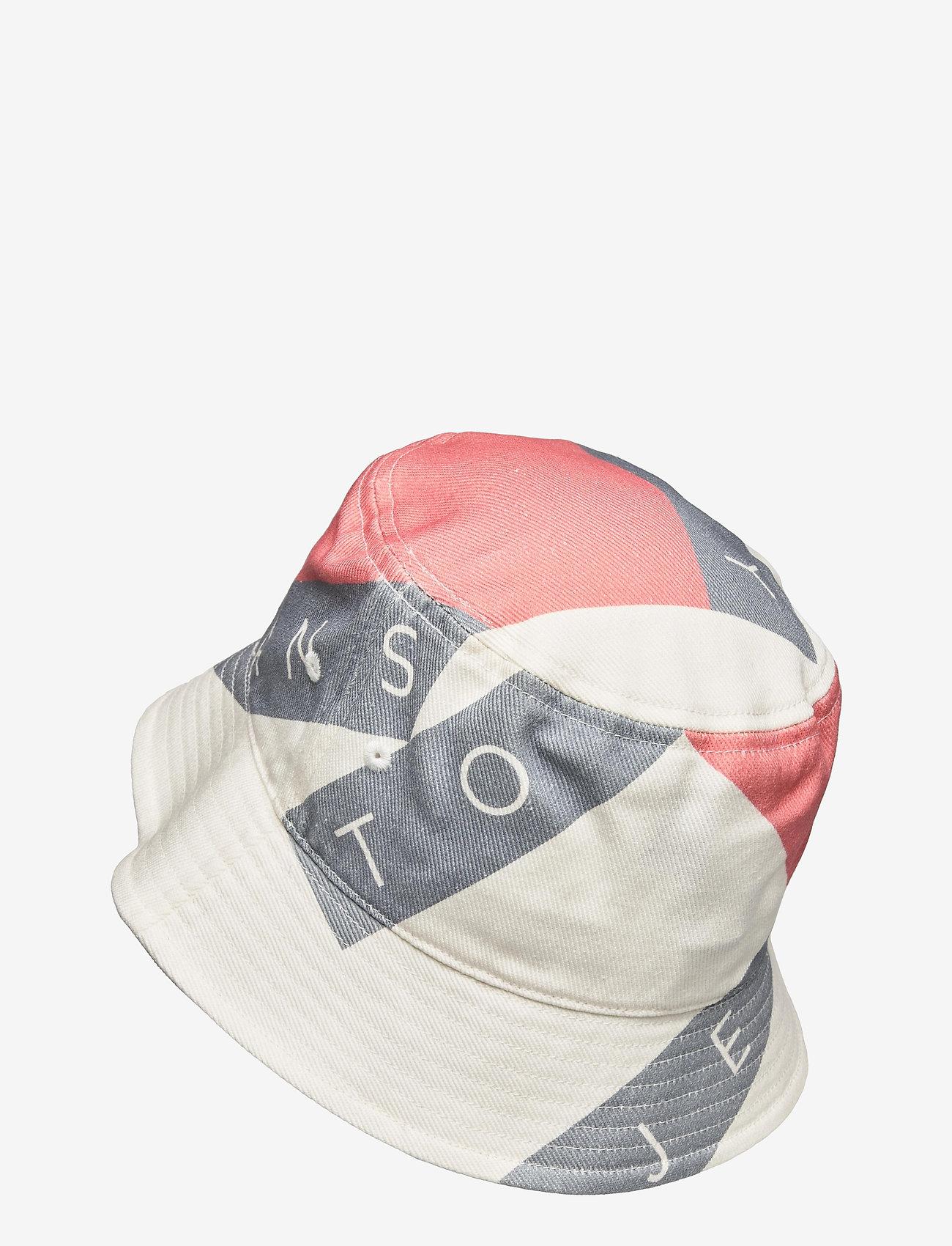Tommy Hilfiger - TJW HERITAGE FLAG BUCKET - bøllehatte - white - 1