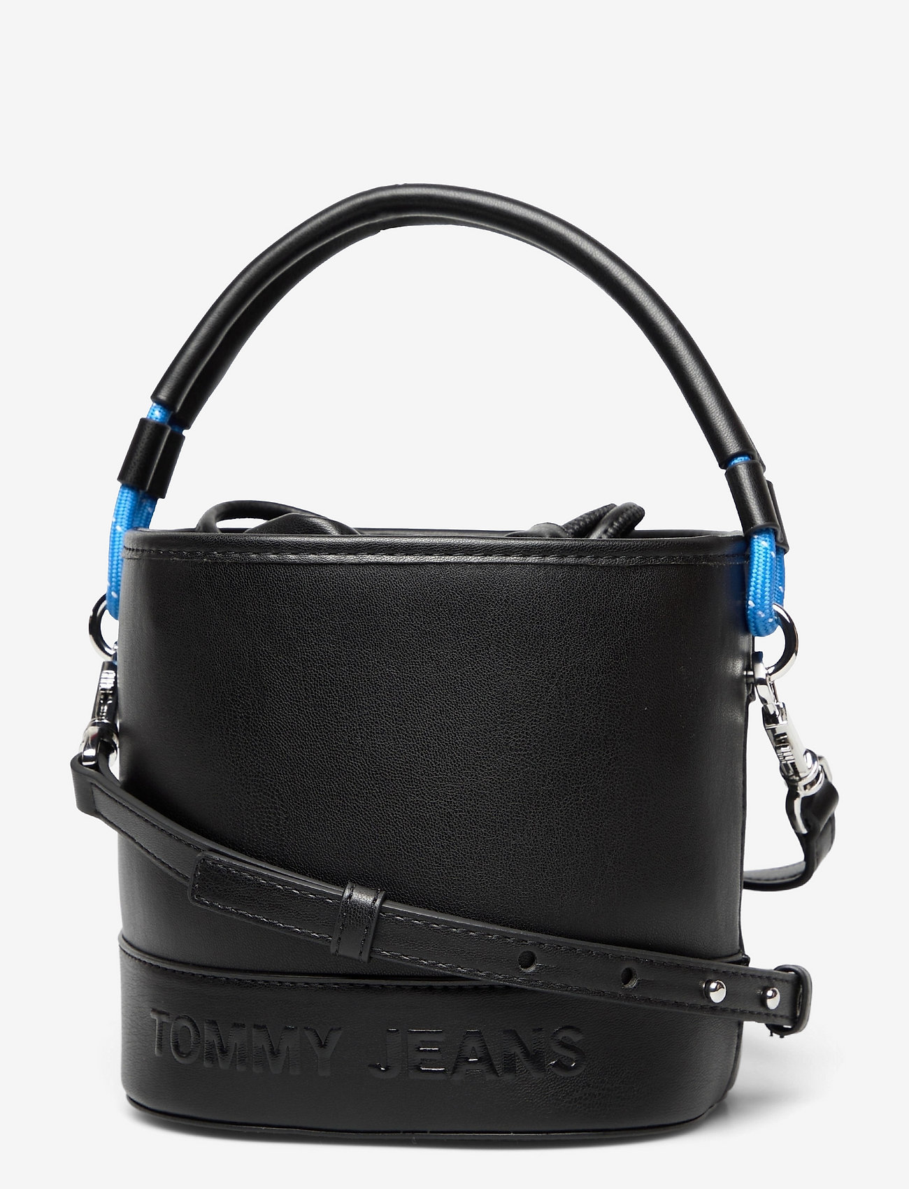 Tommy Hilfiger - TJW FEMME BUCKET BAG - bucket bags - black - 0