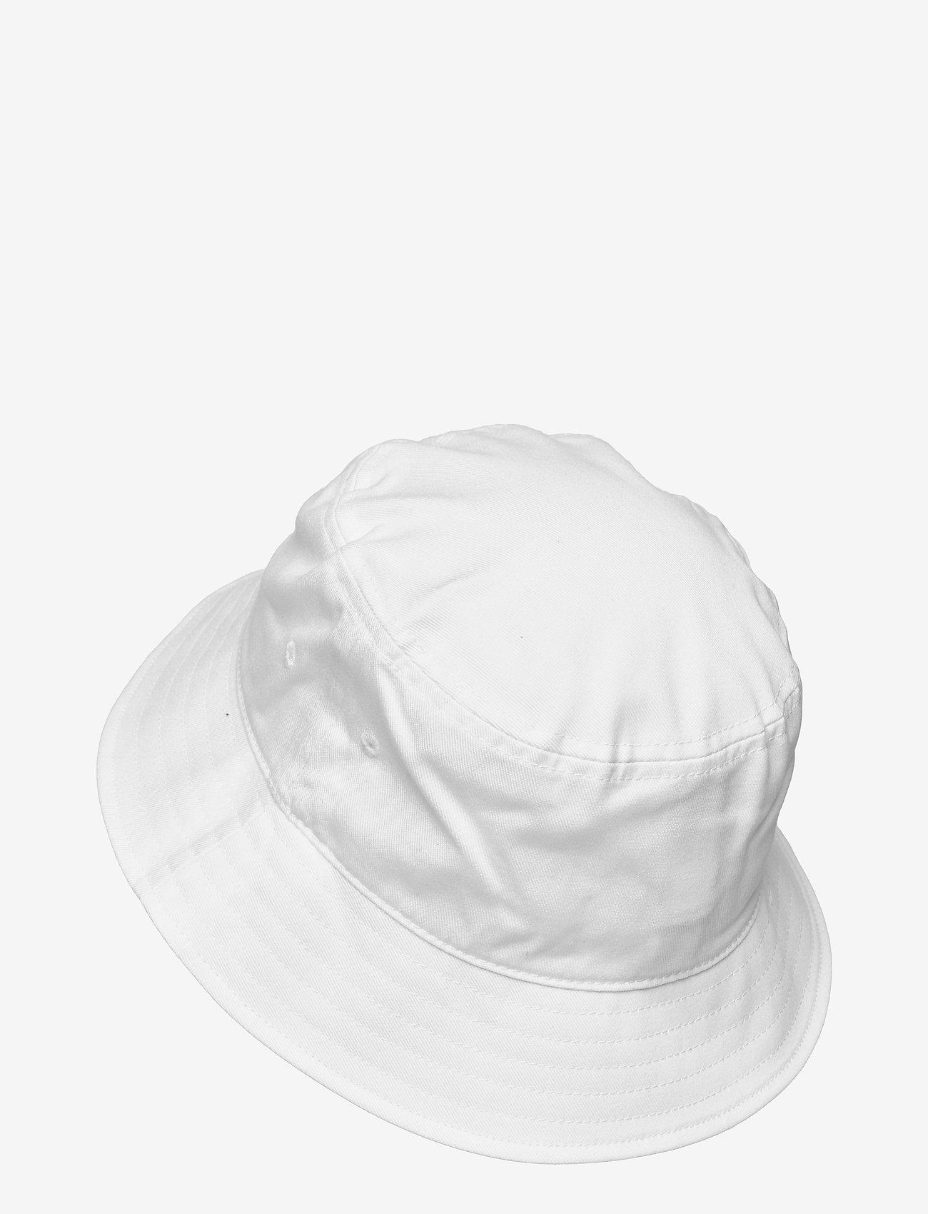 Tommy Hilfiger - TJW FLAG BUCKET HAT - bøllehatte - white - 1