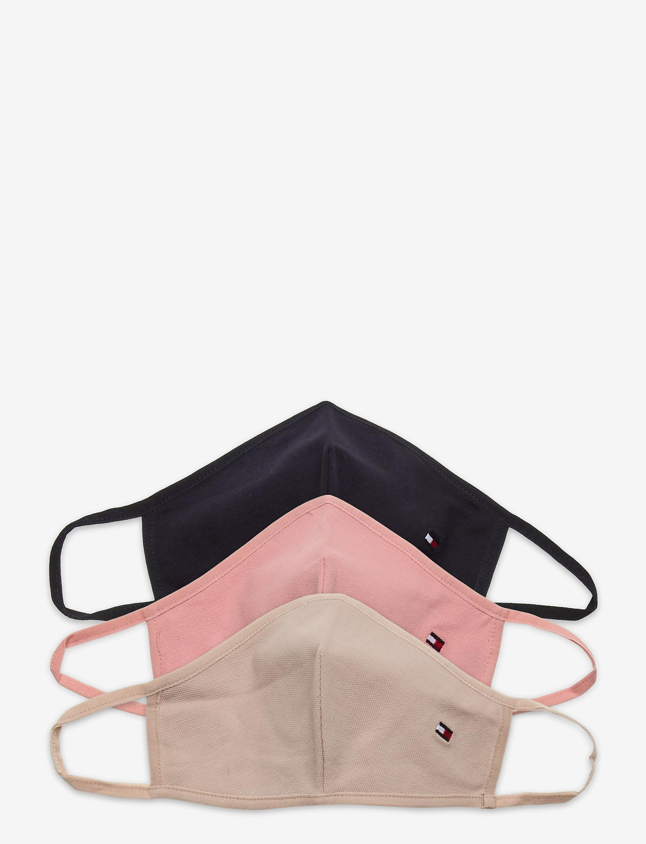 Tommy Hilfiger - SPWW SEASONAL FACE COVER 3-PACK - gezicht maskers - corporate - 0