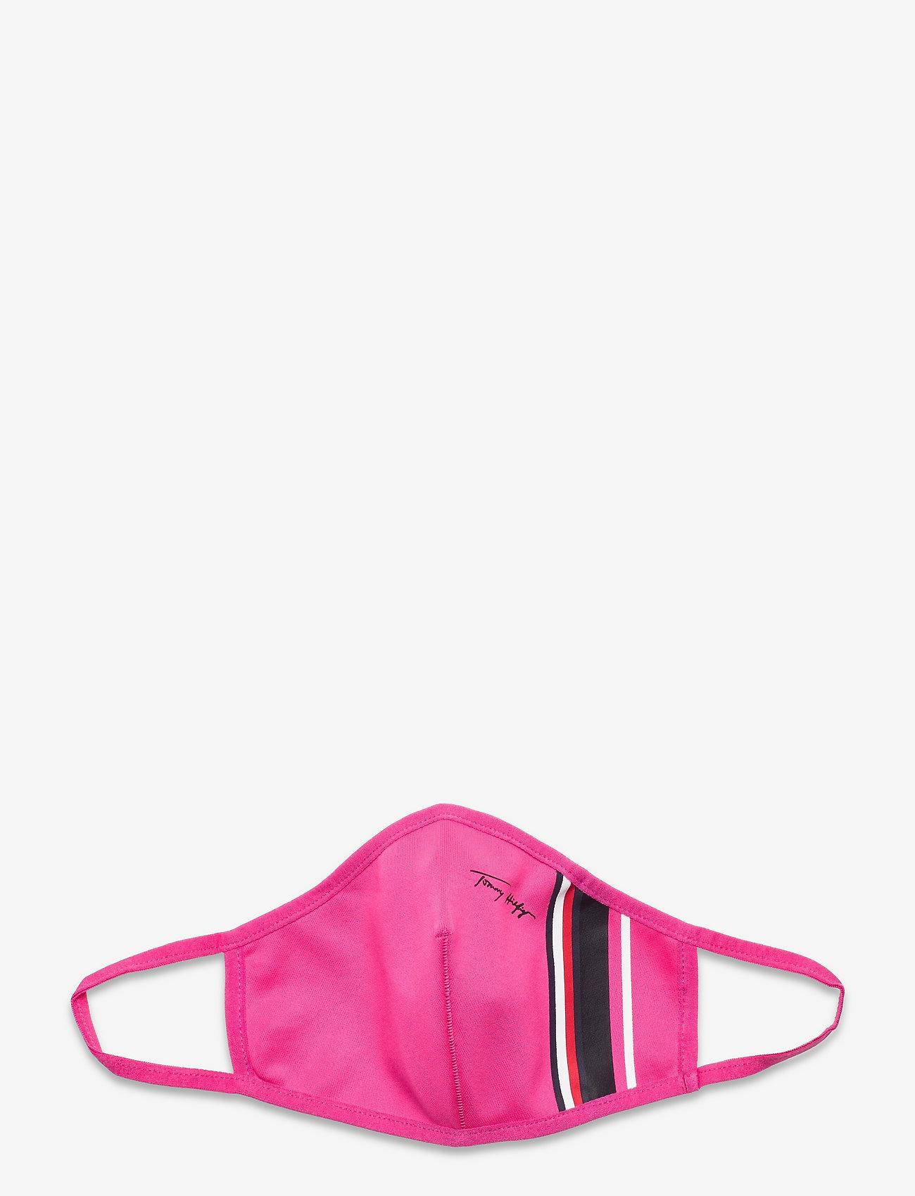Tommy Hilfiger - ABO WMN STRIPE FACE COVER 3-PACK - gezicht maskers - color pack - 1