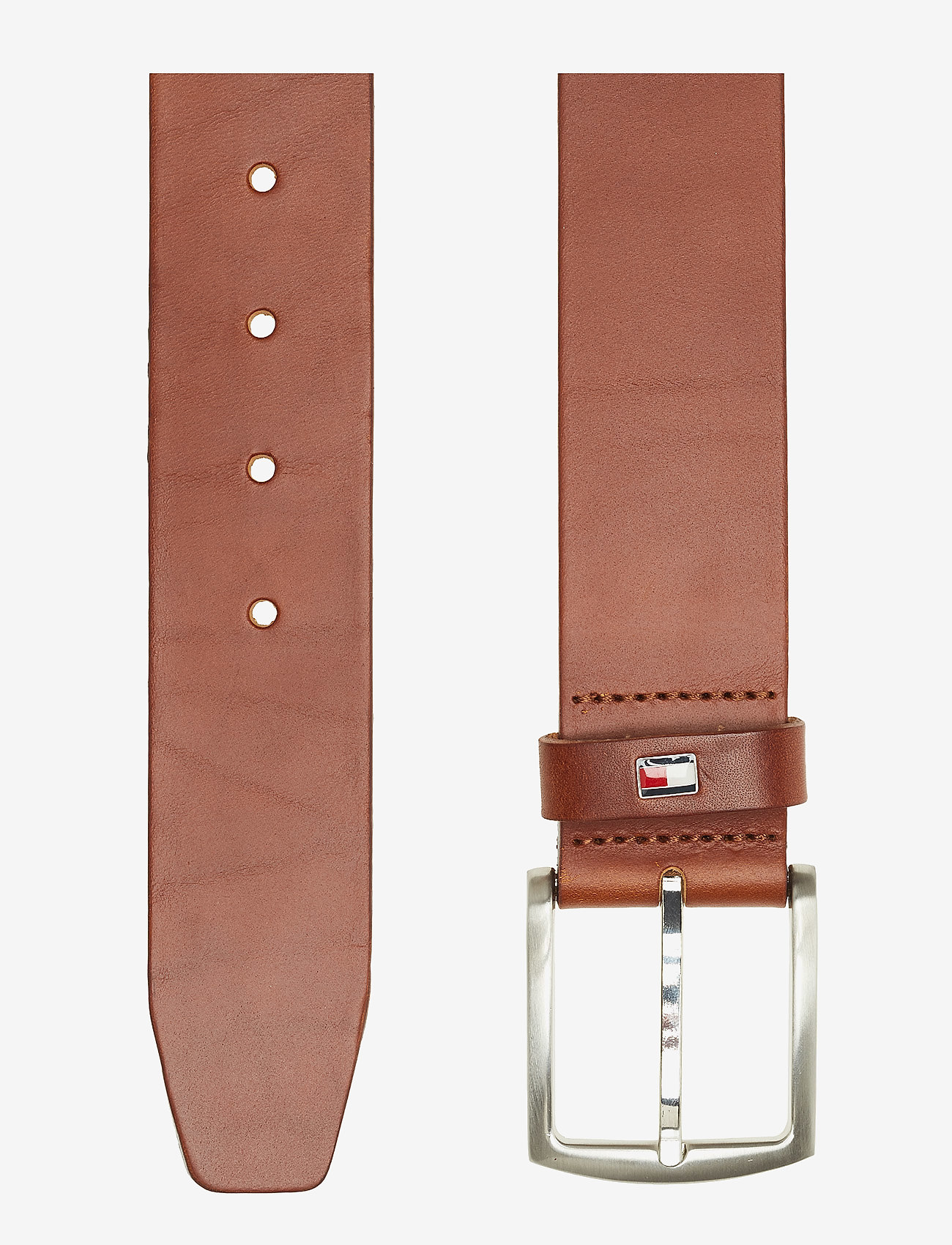 Tommy Hilfiger - NEW DENTON BELT 4.0 - belts - dark tan - 1