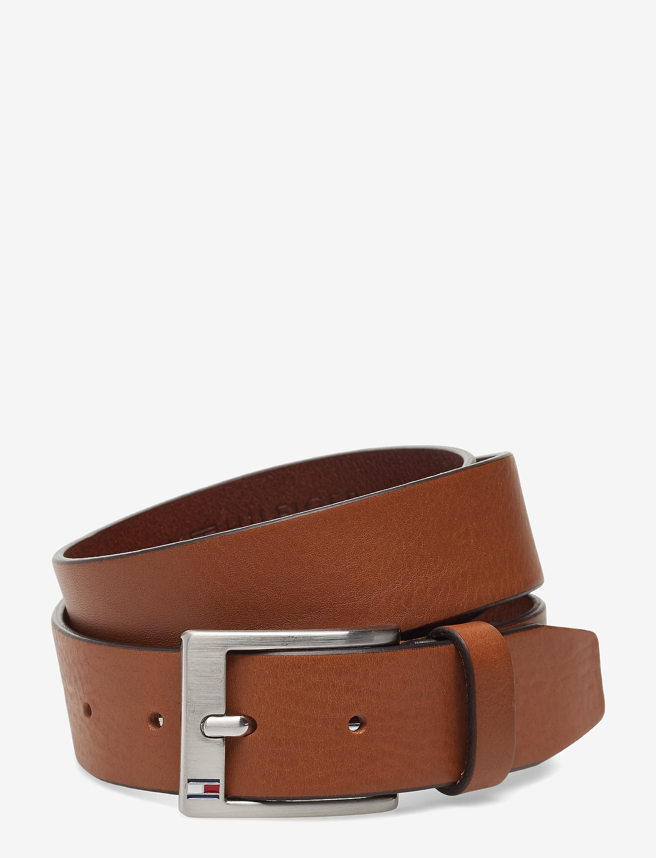 Tommy Hilfiger - NEW ALY BELT - classic belts - dark tan
