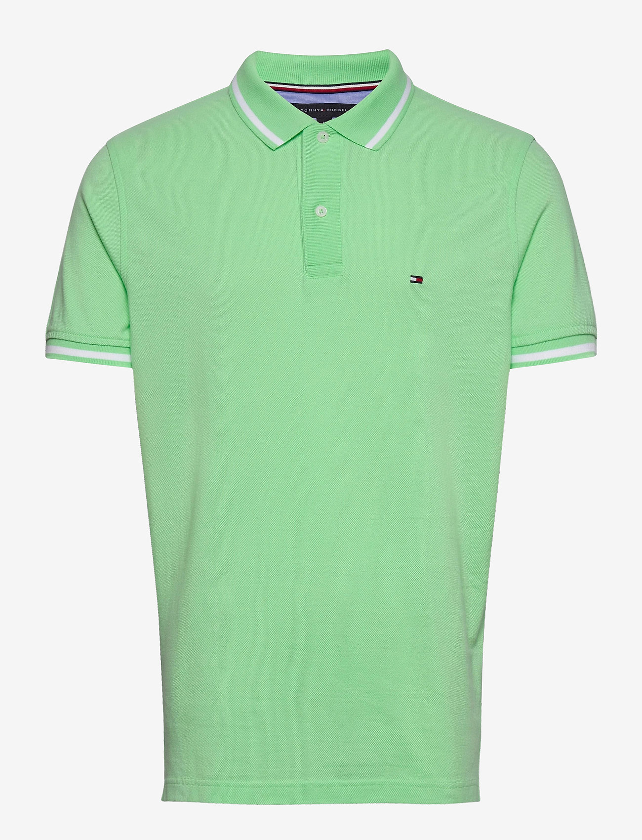 Tommy Hilfiger - BASIC TIPPED REGULAR - kortermede - neo mint - 0