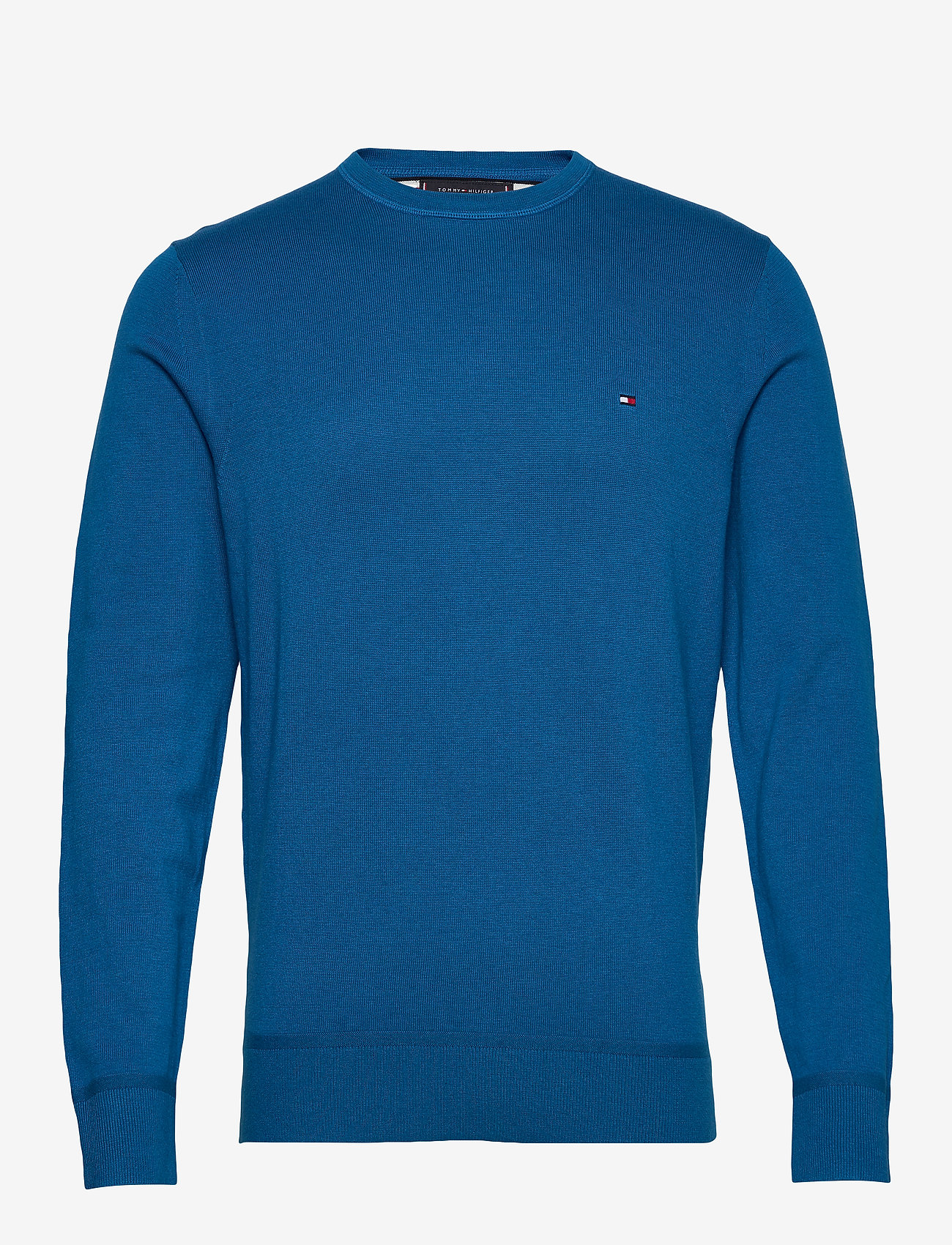 Tommy Hilfiger - ORGANIC COTTON SILK CREW NECK - pulls col rond - regatta blue heather - 0