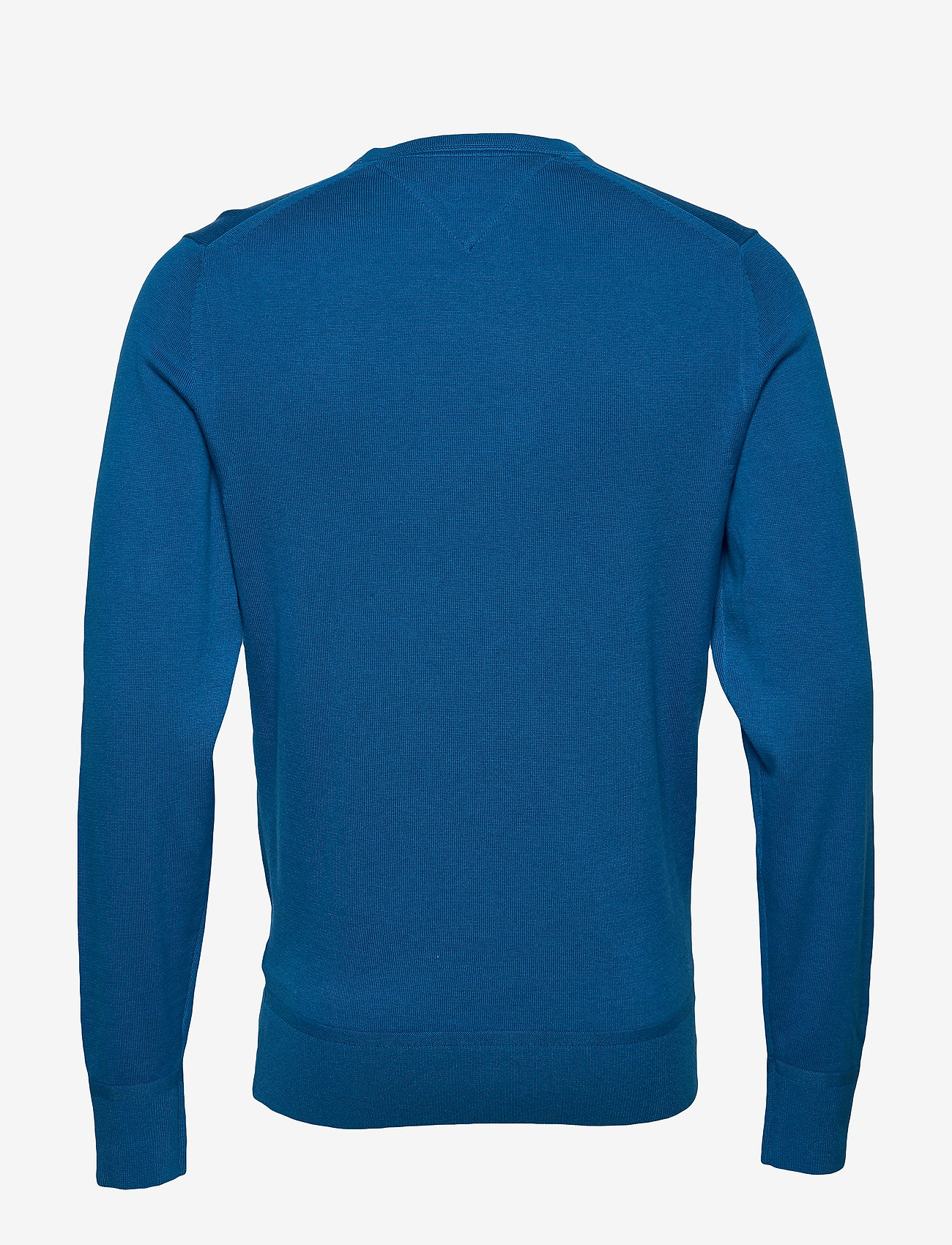 Tommy Hilfiger - ORGANIC COTTON SILK CREW NECK - pulls col rond - regatta blue heather - 1