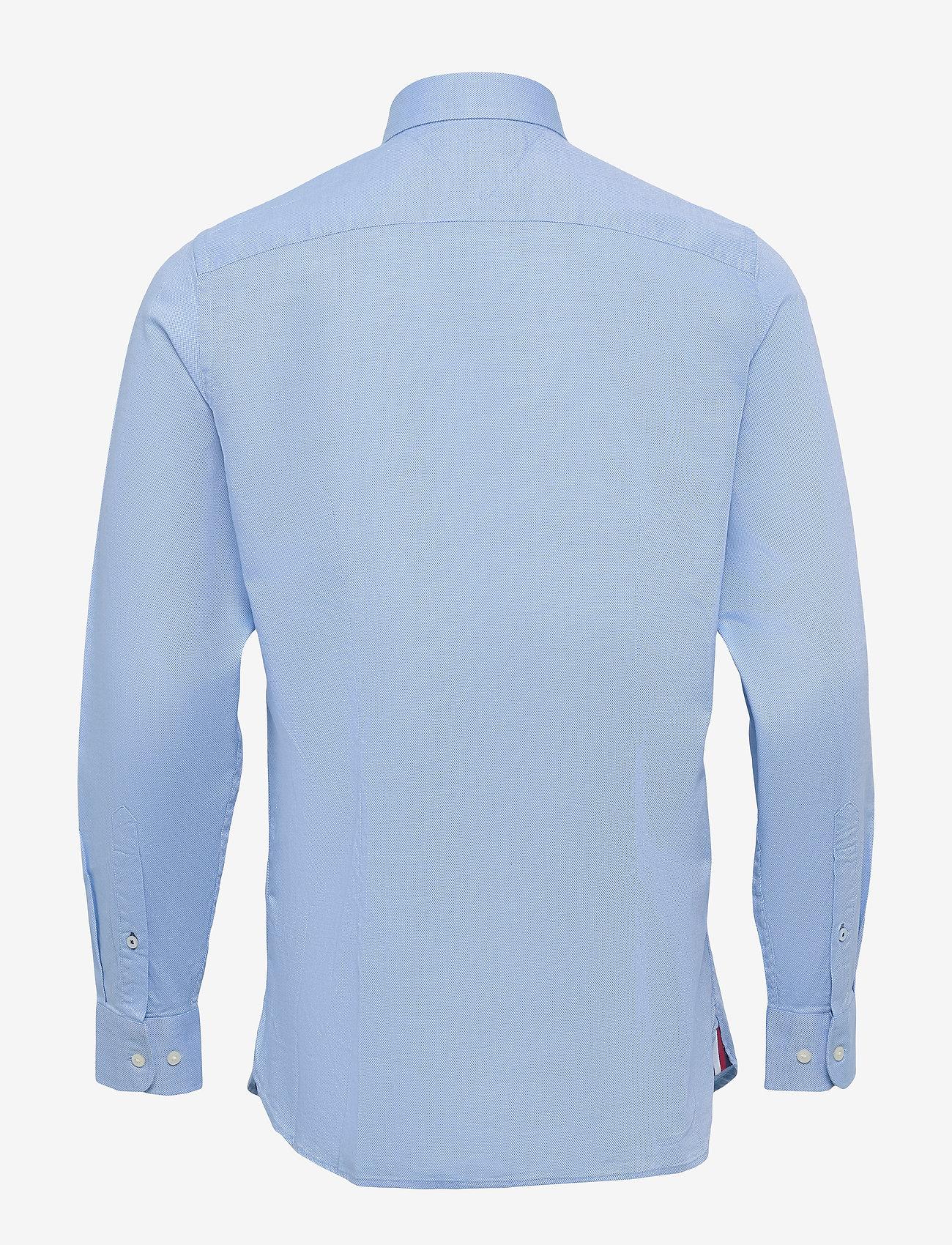 Tommy Hilfiger - SLIM FLEX ESSENTIAL DOBBY SHIRT - basic skjorter - copenhagen blue - 1