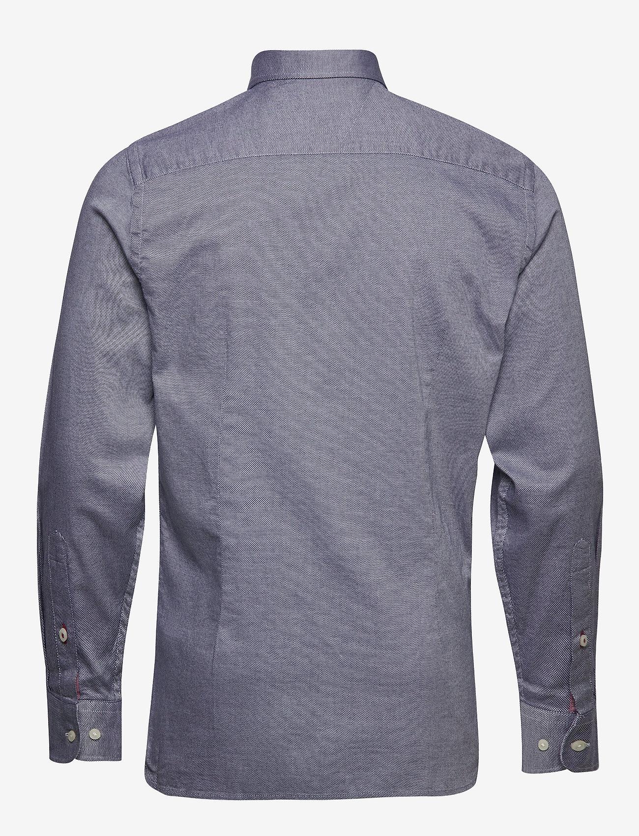 Tommy Hilfiger - SLIM FLEX ESSENTIAL DOBBY SHIRT - basic skjorter - desert sky - 1