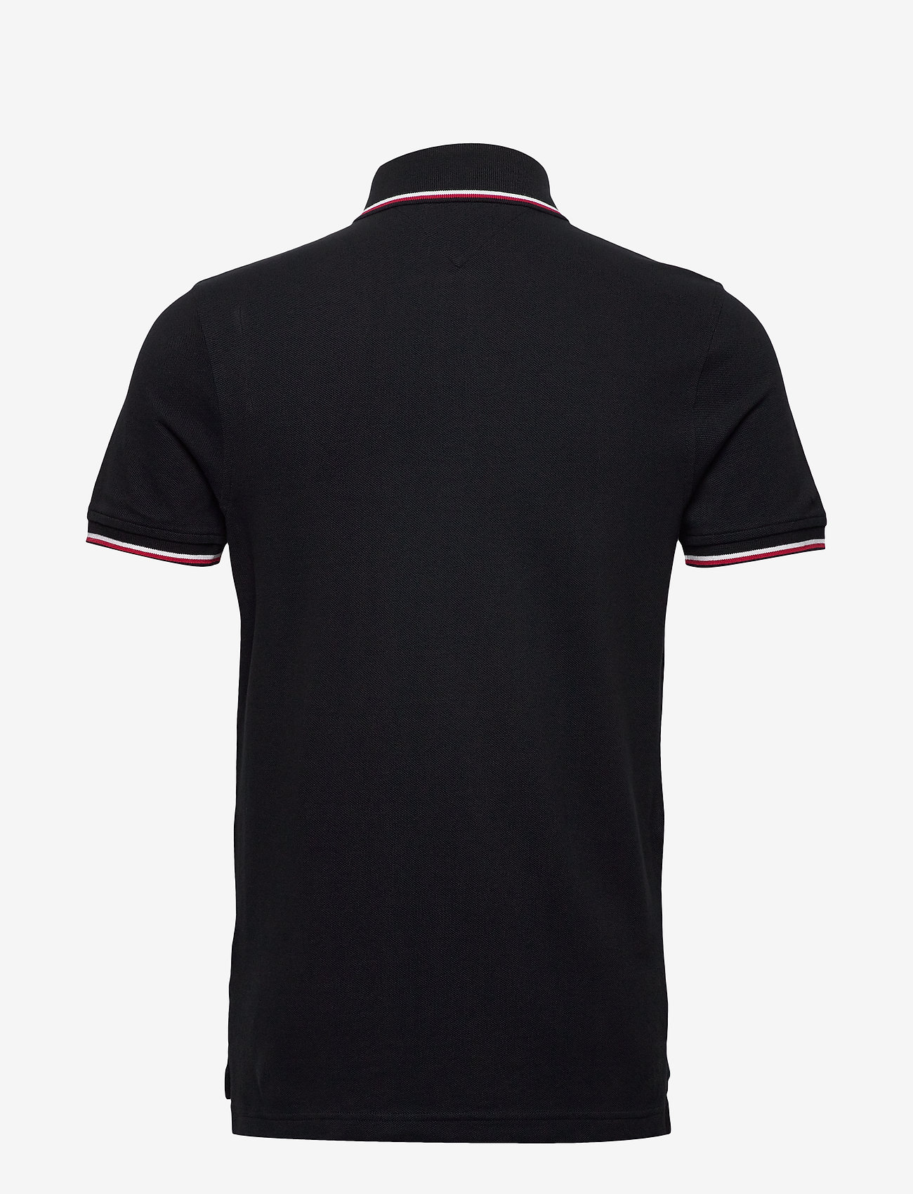 Tommy Hilfiger - CORE TOMMY TIPPED SLIM POLO - poloshirts - desert sky - 1